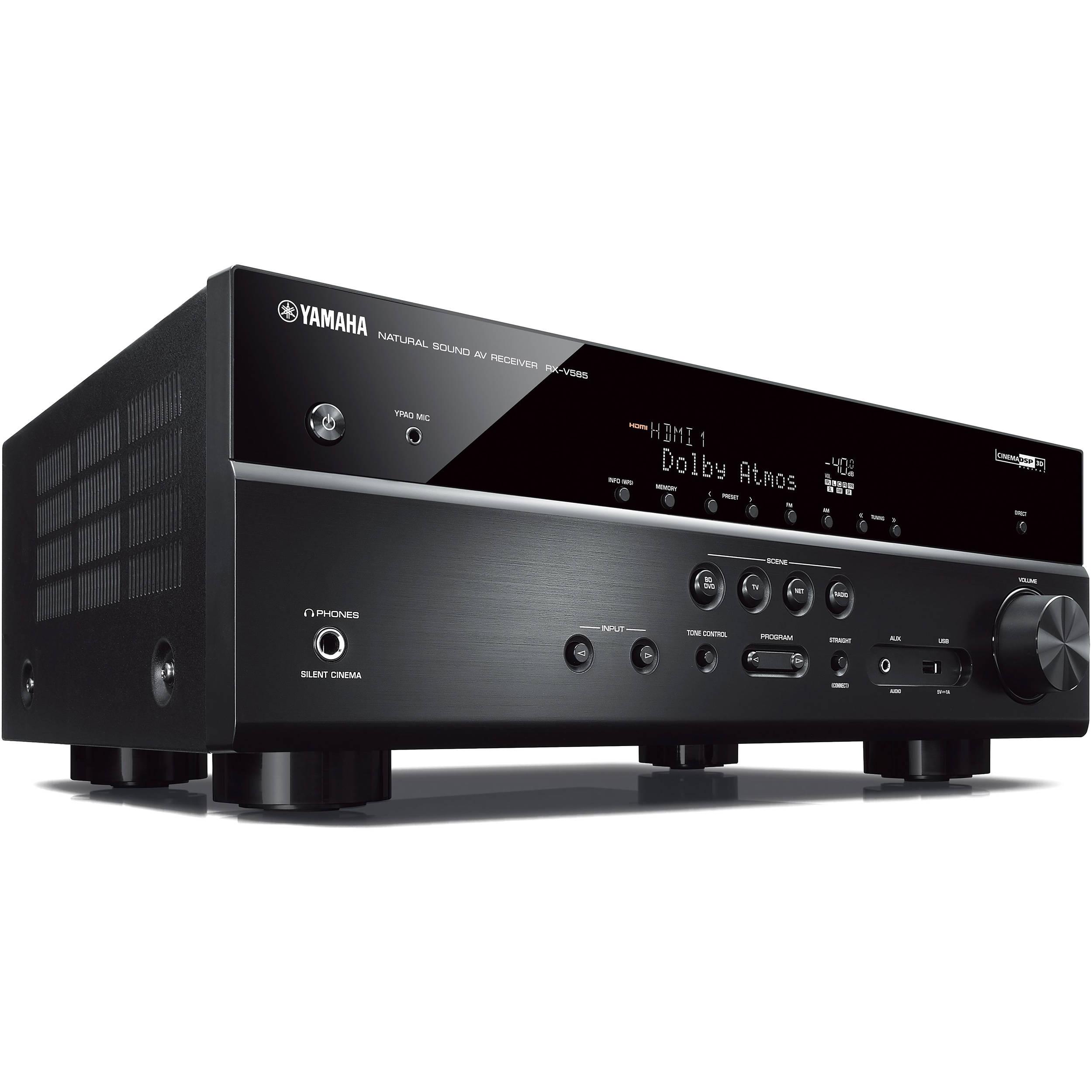 Yamaha RX-V585 7 2-Channel MusicCast A/V Receiver