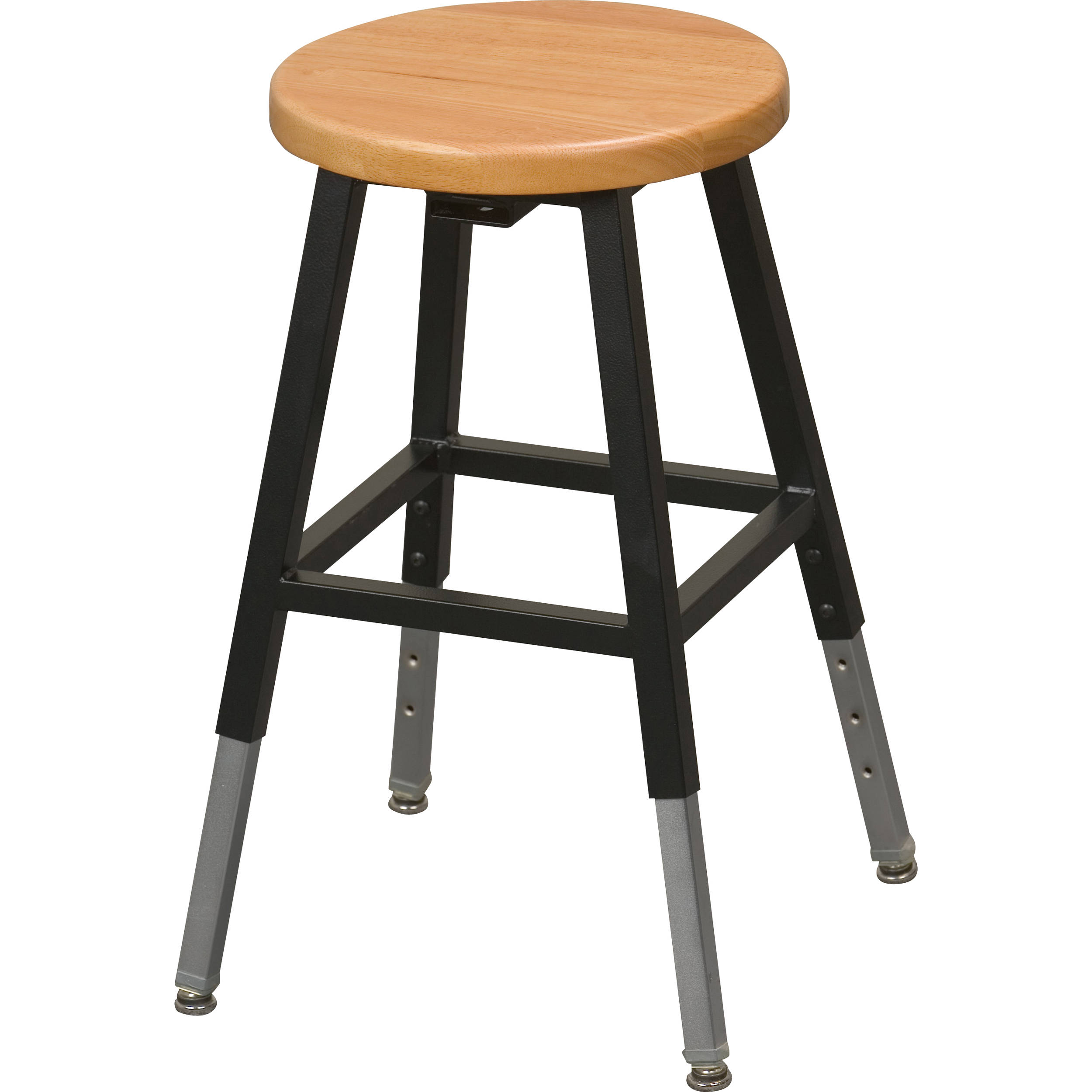 Swell Balt 34441R Adjustable Height Lab Stool Without Back Black Ibusinesslaw Wood Chair Design Ideas Ibusinesslaworg