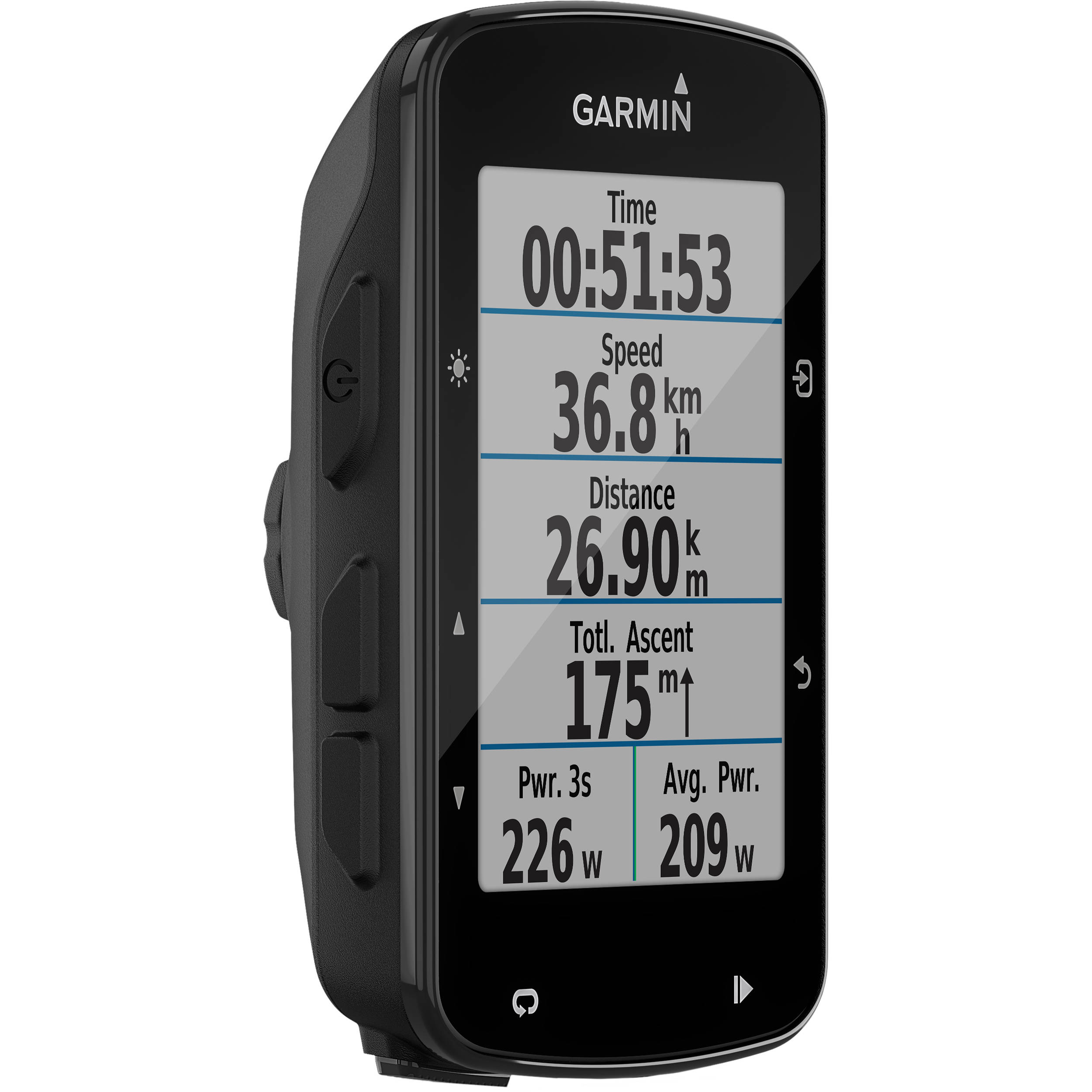 Garmin Cycle Computer >> Garmin Edge 520 Plus Gps Glonass Cycling Computer 010 02083 00