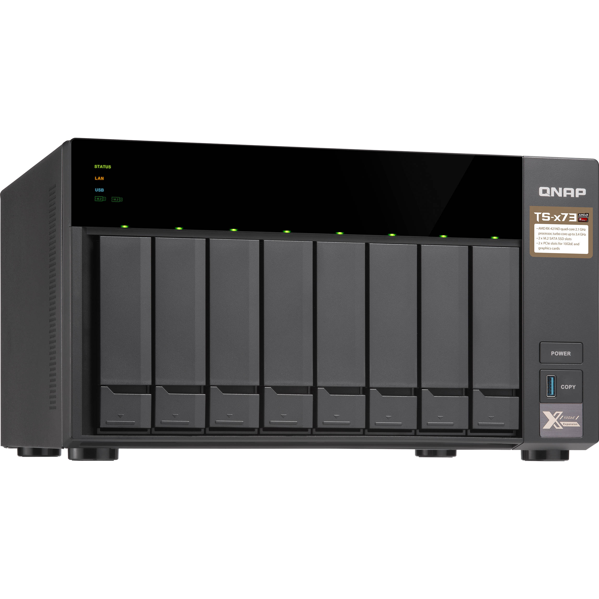QNAP TS-873 8-Bay NAS Enclosure