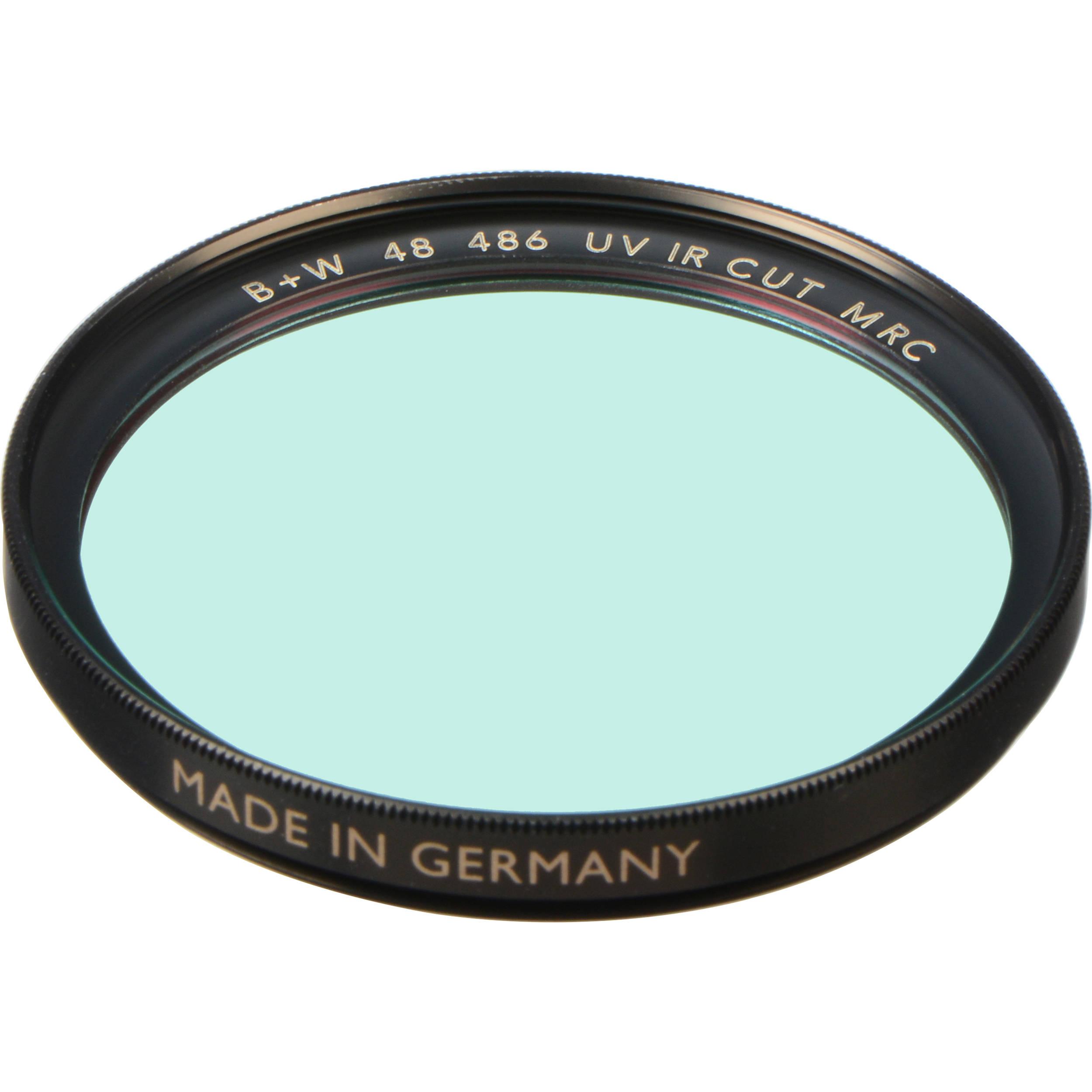 B+W 52mm UV/IR Cut MRC 486M Filter