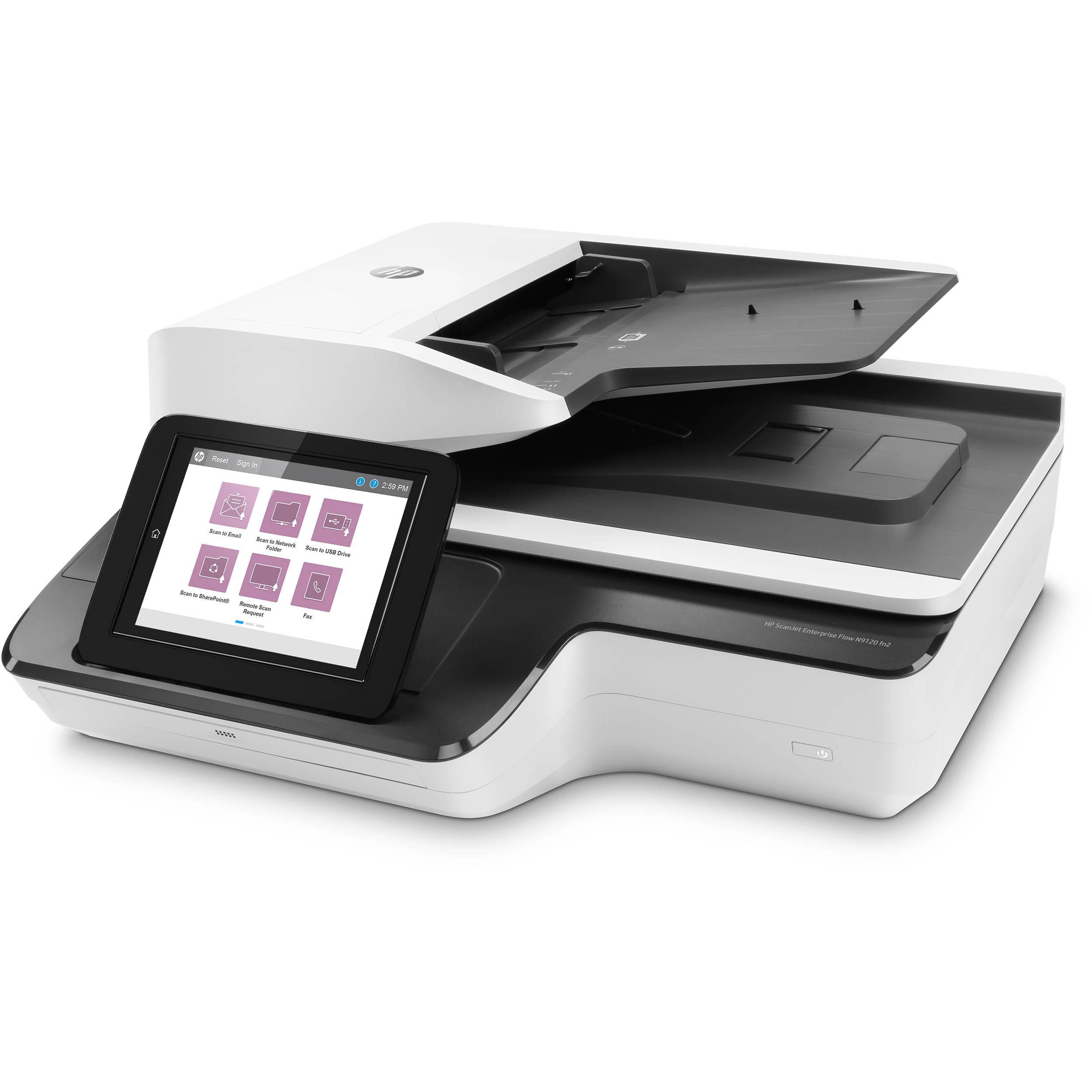 HP Scanjet Enterprise Flow N9120 fn2 Flatbed Scanner