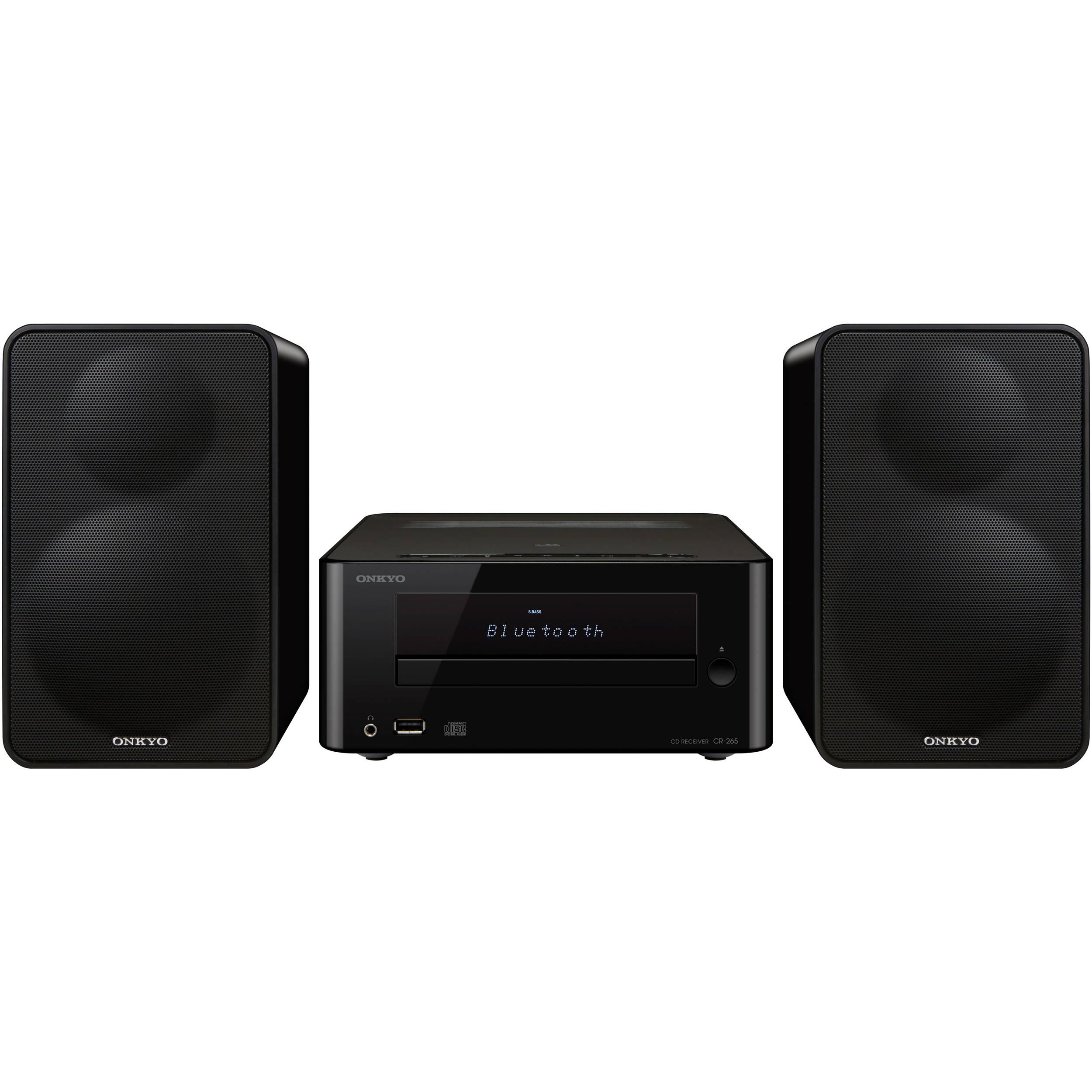 Onkyo CS-265 Colibrino CD Hi-Fi Bluetooth Mini System (Black)