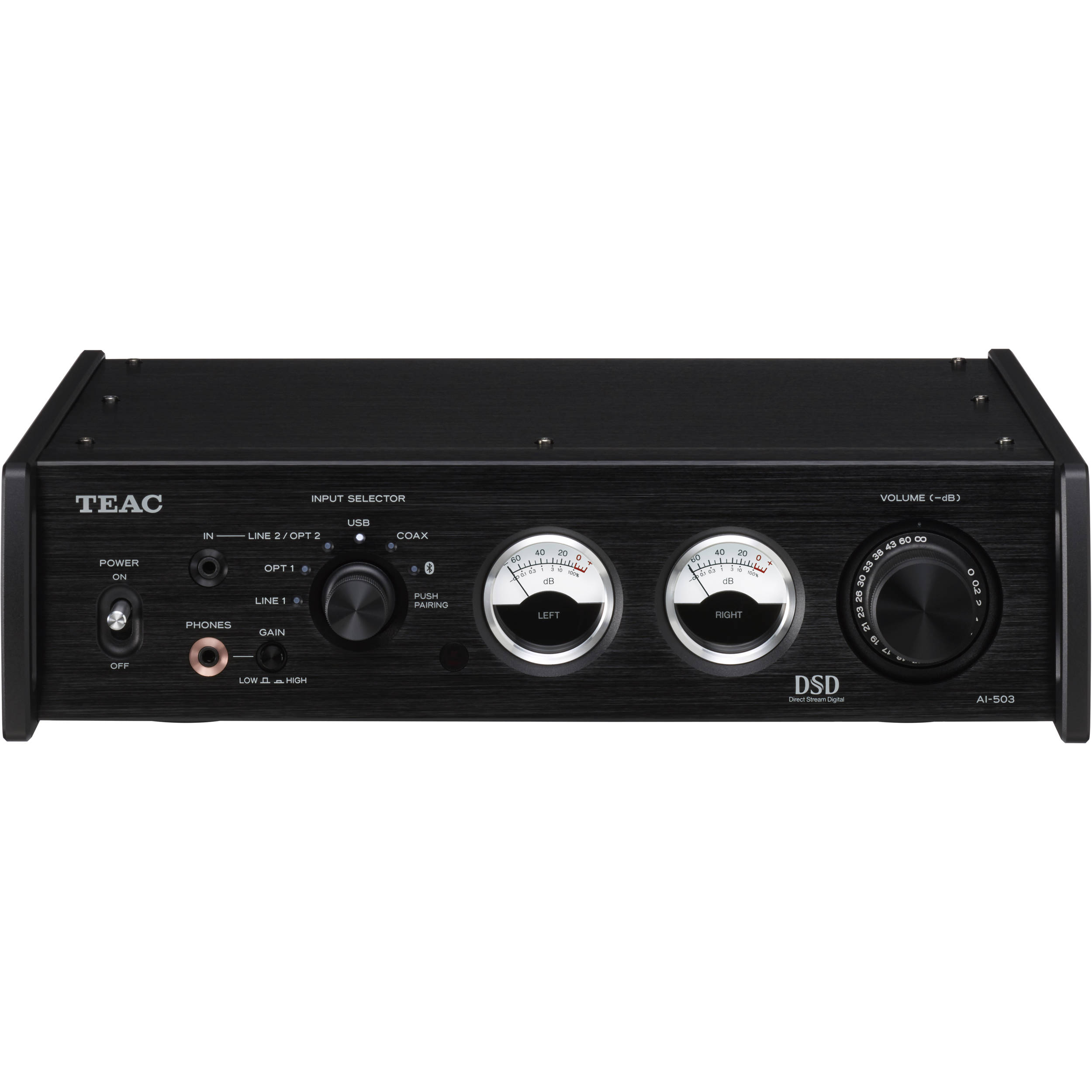 Teac AI-503 Stereo 60W Integrated Amplifier (Black)