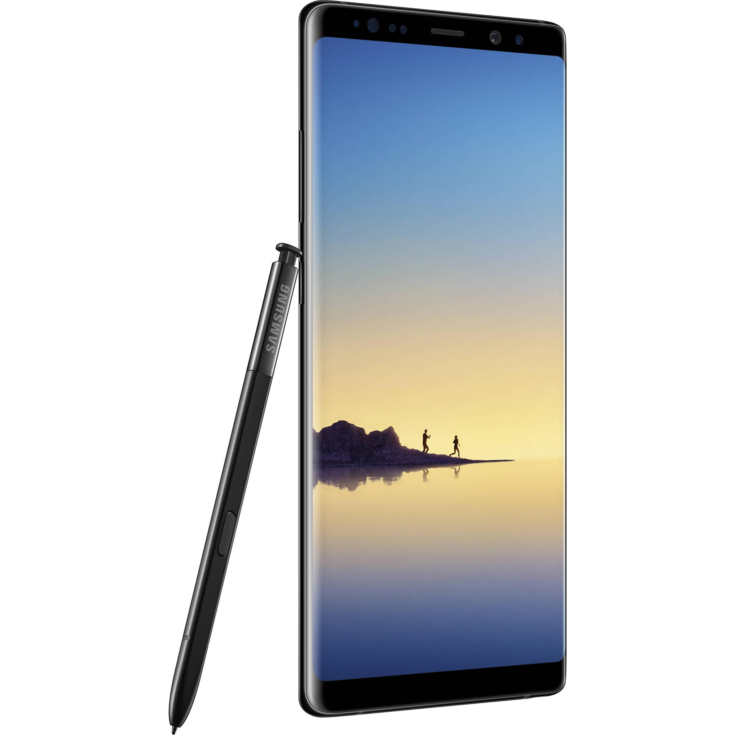 Note8 Black Smartphone Samsung Sm-n950f 64gb Midnight Galaxy Dual-sim unlocked