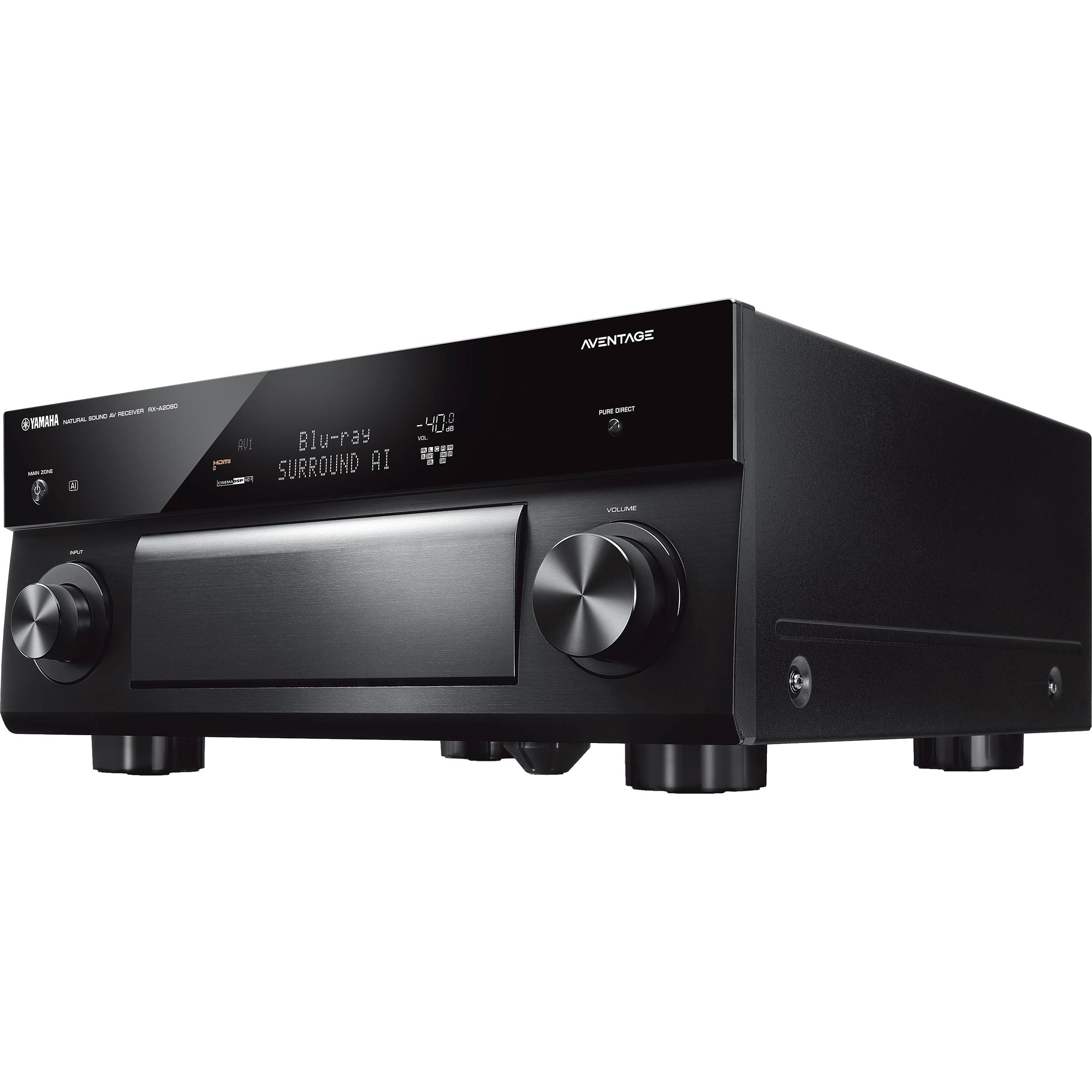 Yamaha AVENTAGE RX-A2080 9 2-Channel Network A/V Receiver
