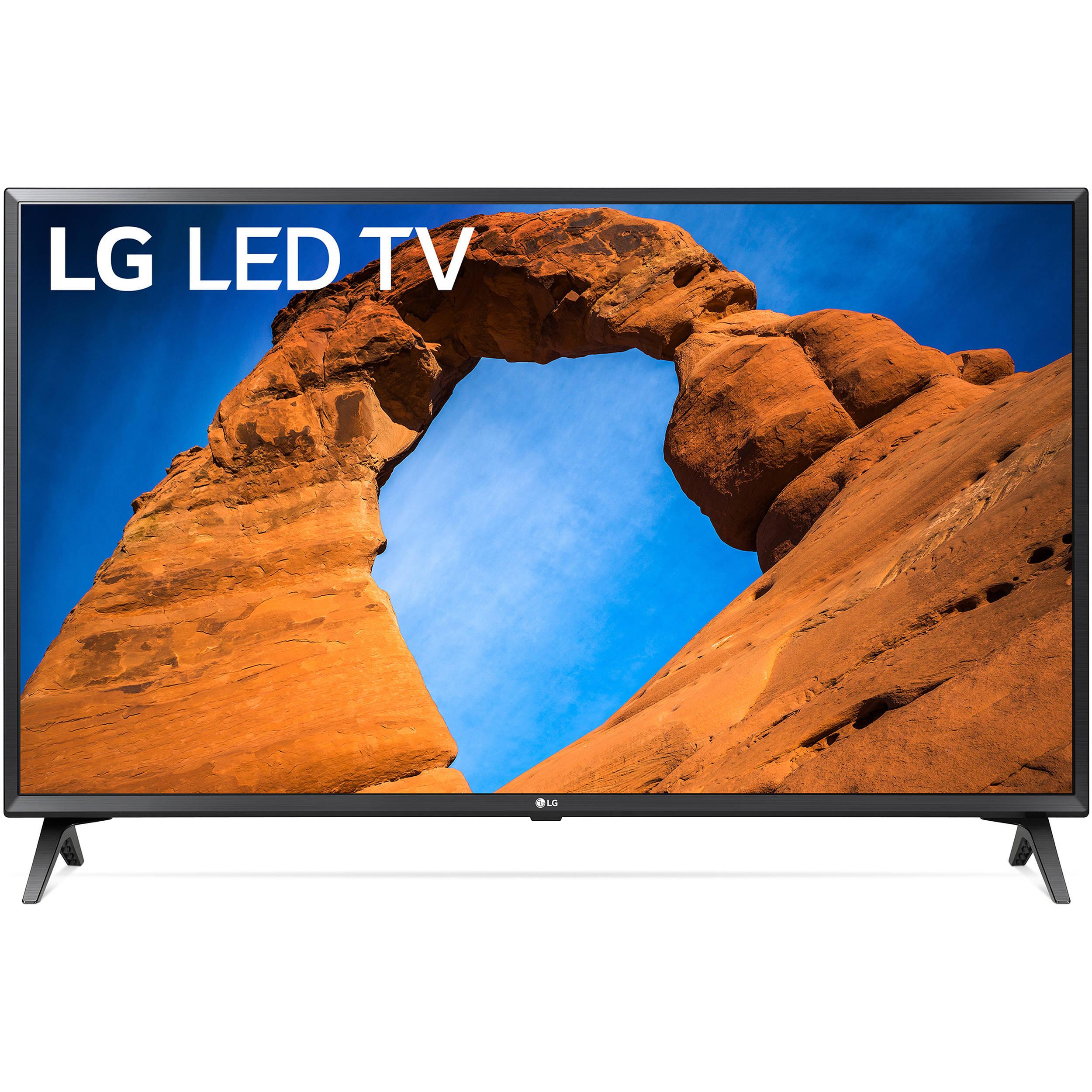 "LG 49/""-Class HDR Smart LED Full HD 1080p TV w// Accessories Bundle 2018"