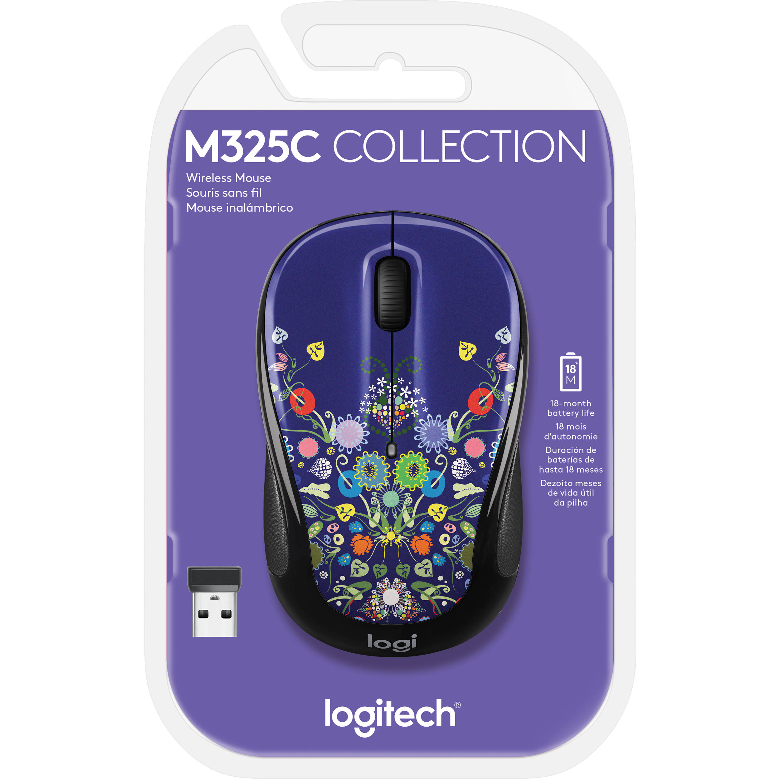 Logitech M325c Wireless Mouse (Natural Jewelry)