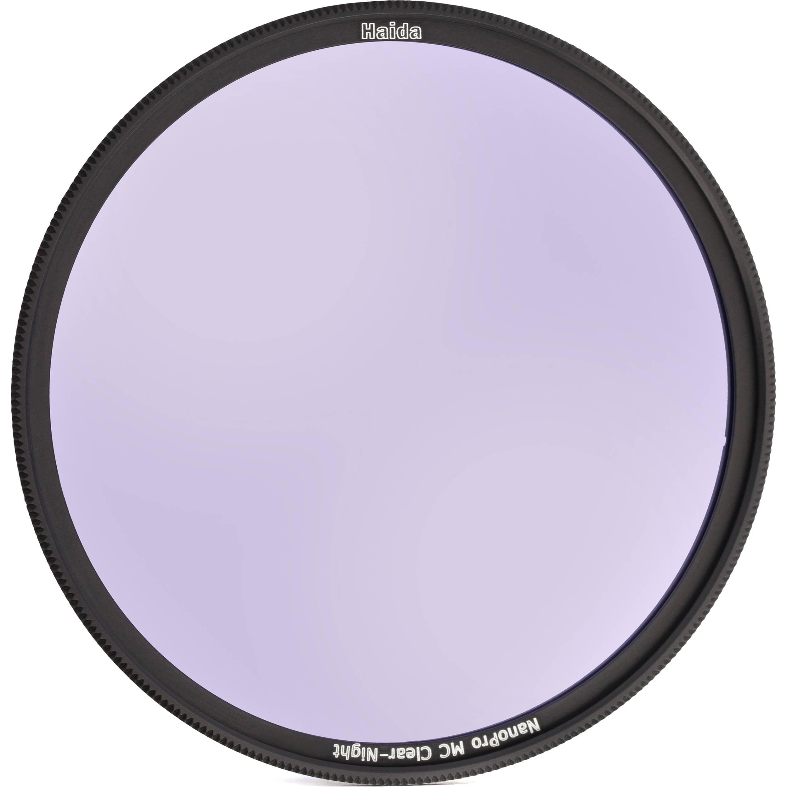 Haida slim Nano Pro MC Clear Night Filtre/ /58/mm