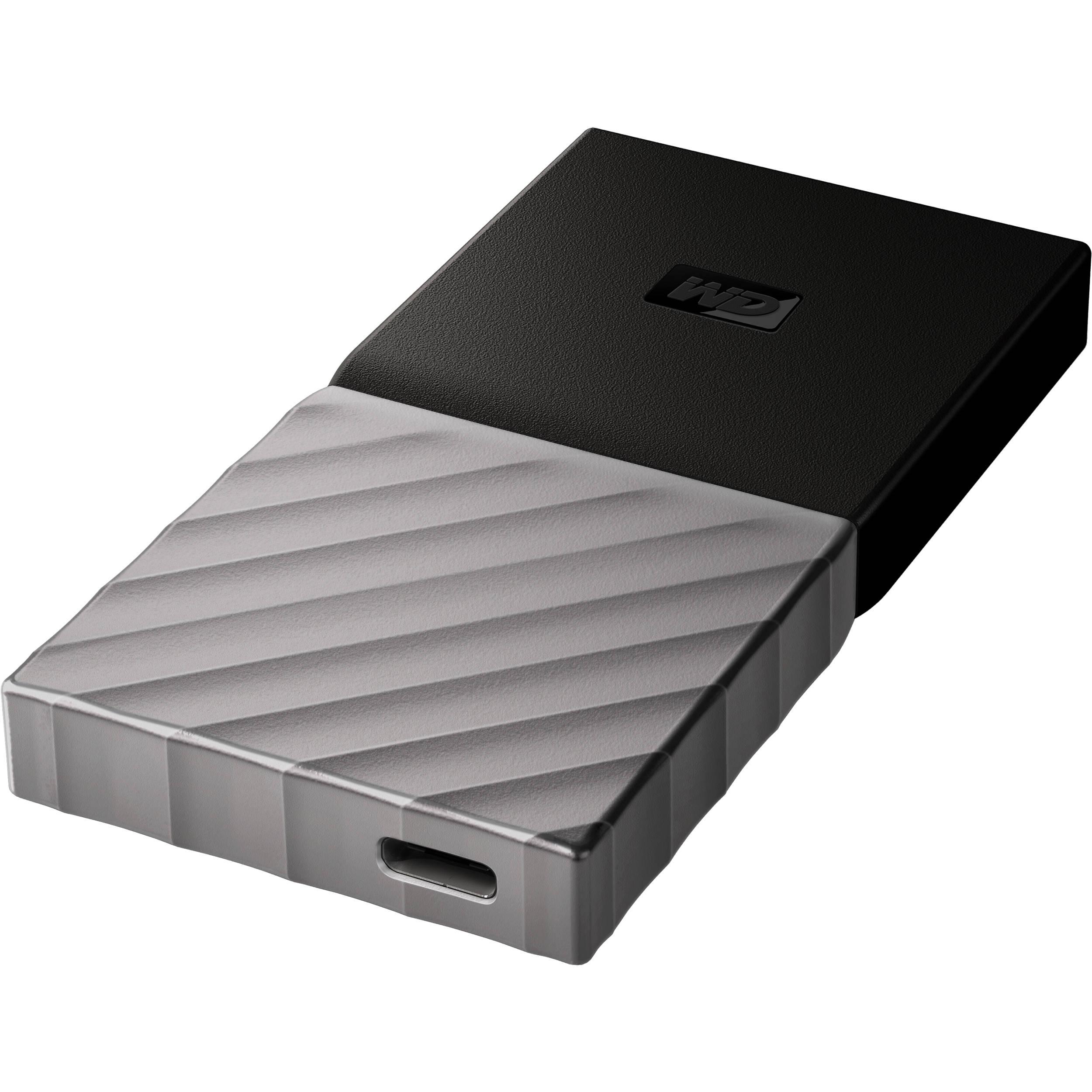 WD 1TB My Passport USB 3 1 Gen 2 External SSD