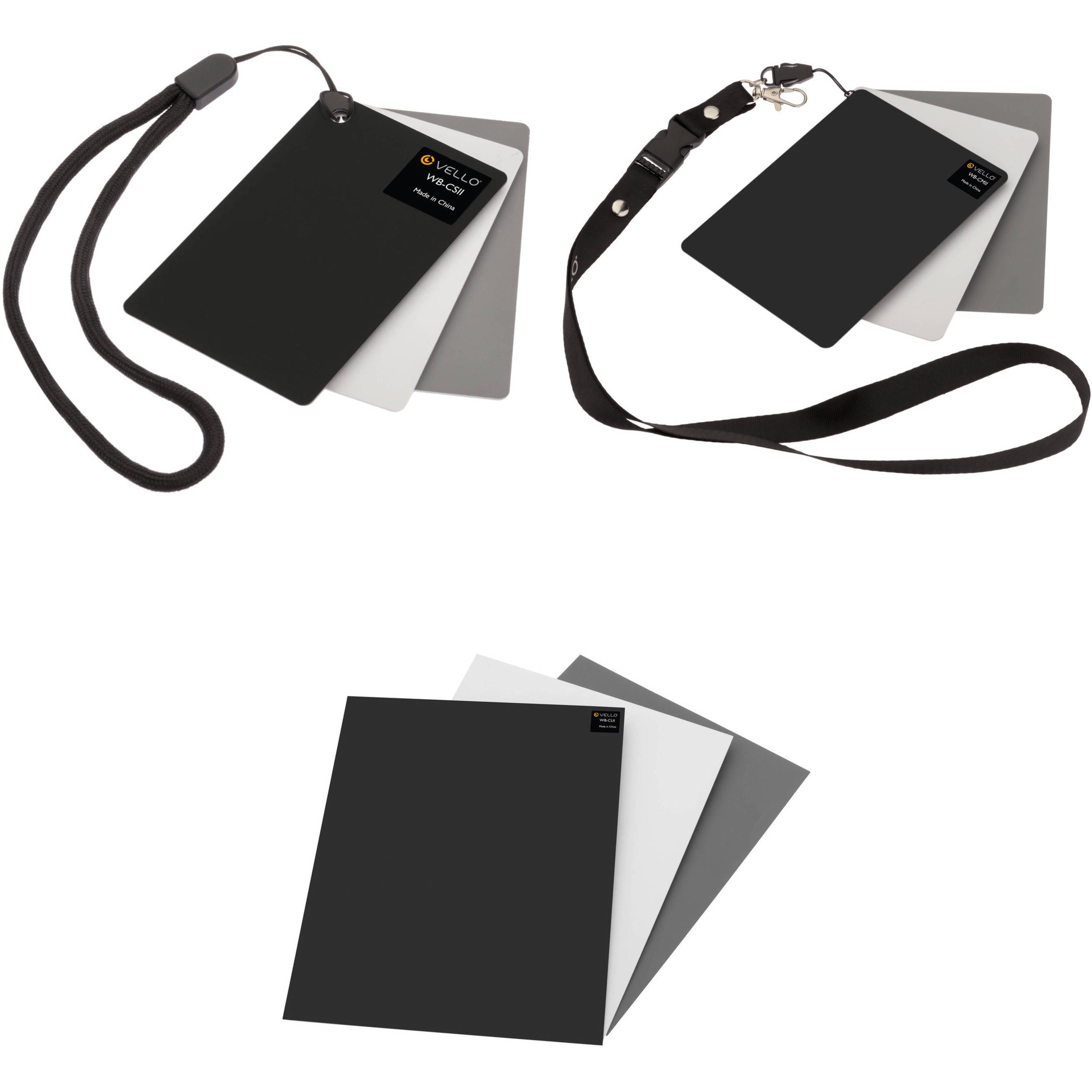 Medium Vello White Balance Card Set