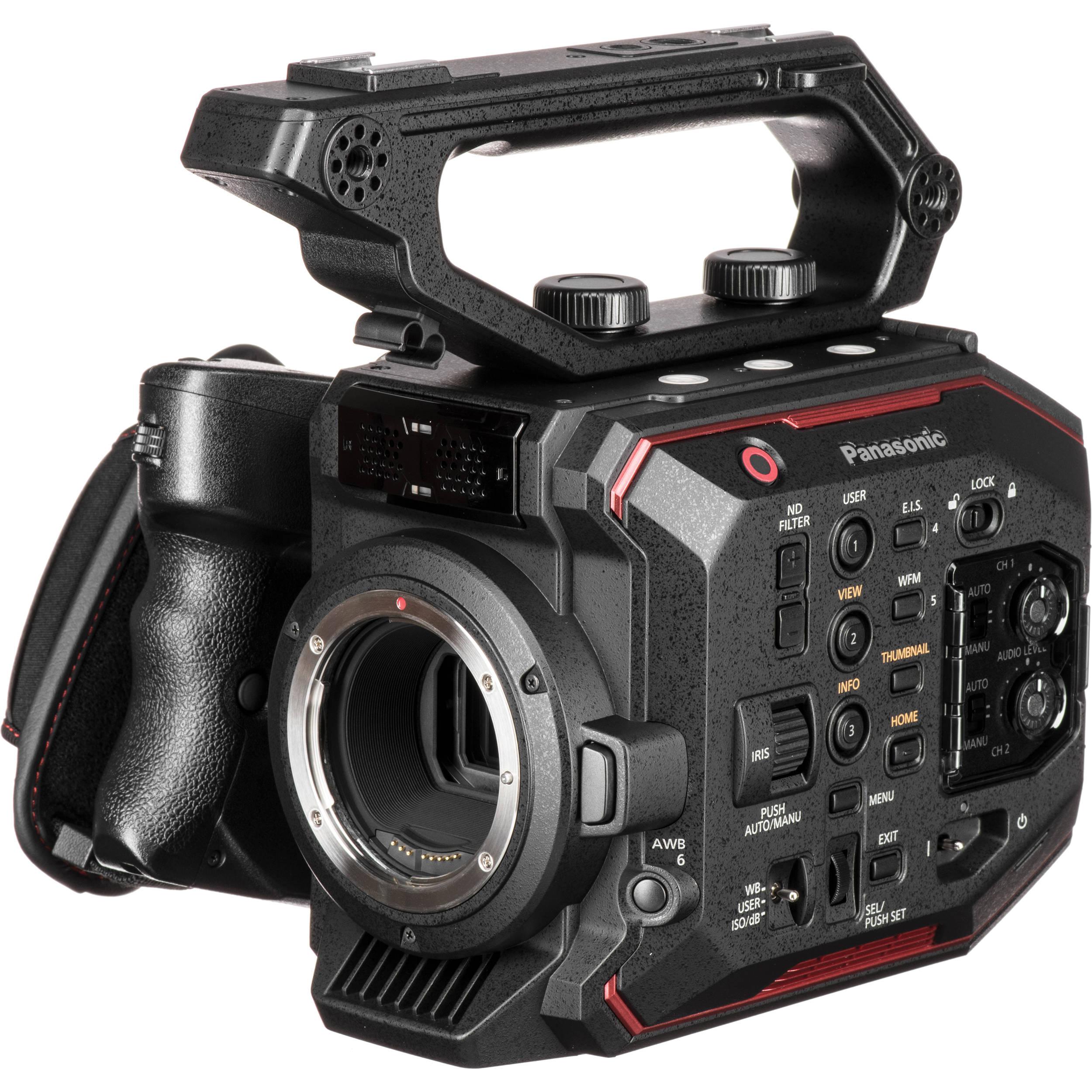 Panasonic AU-EVA1 Compact 5 7K Super 35mm Cinema Camera