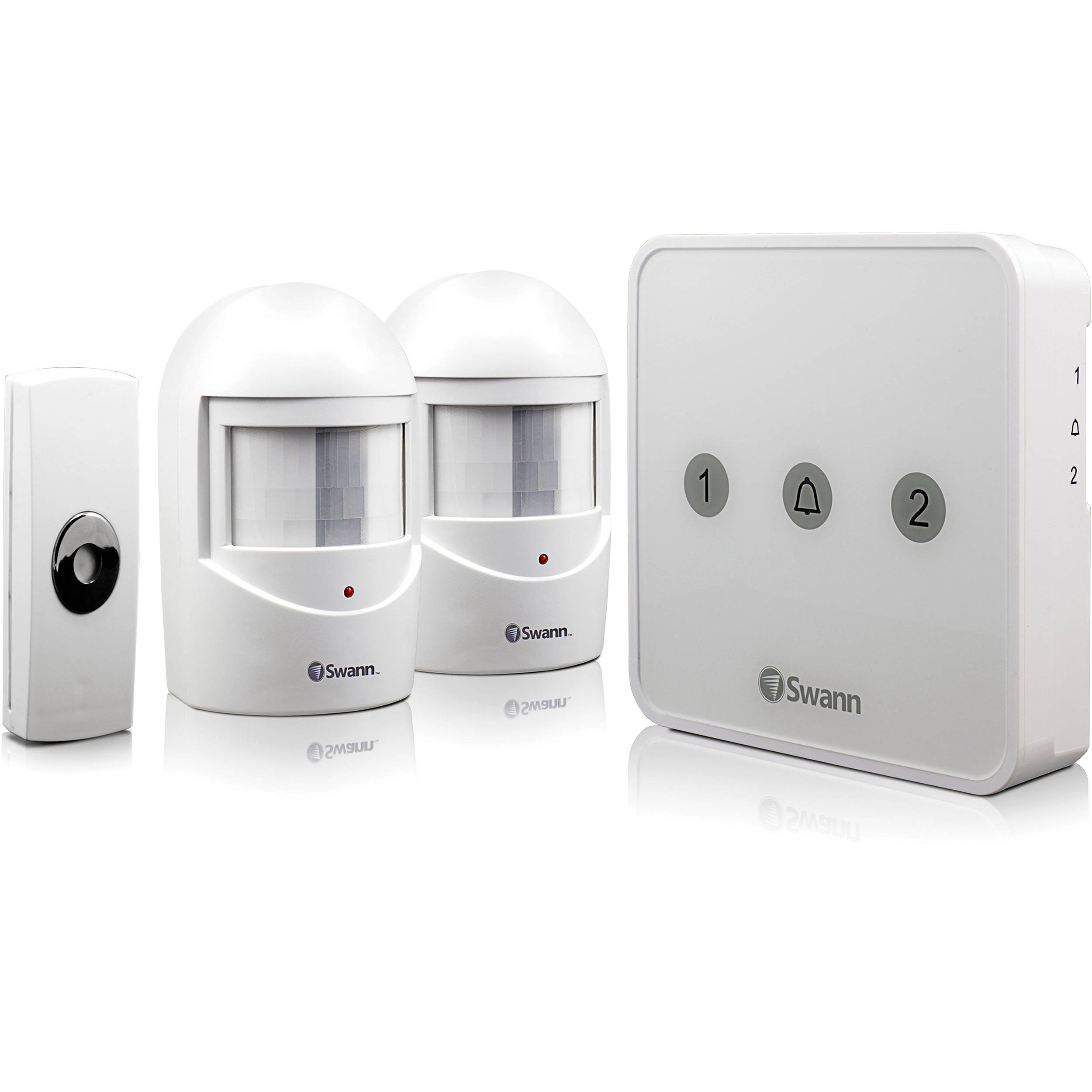 Swann Add-On PIR Alert Sensor Motion Detector White
