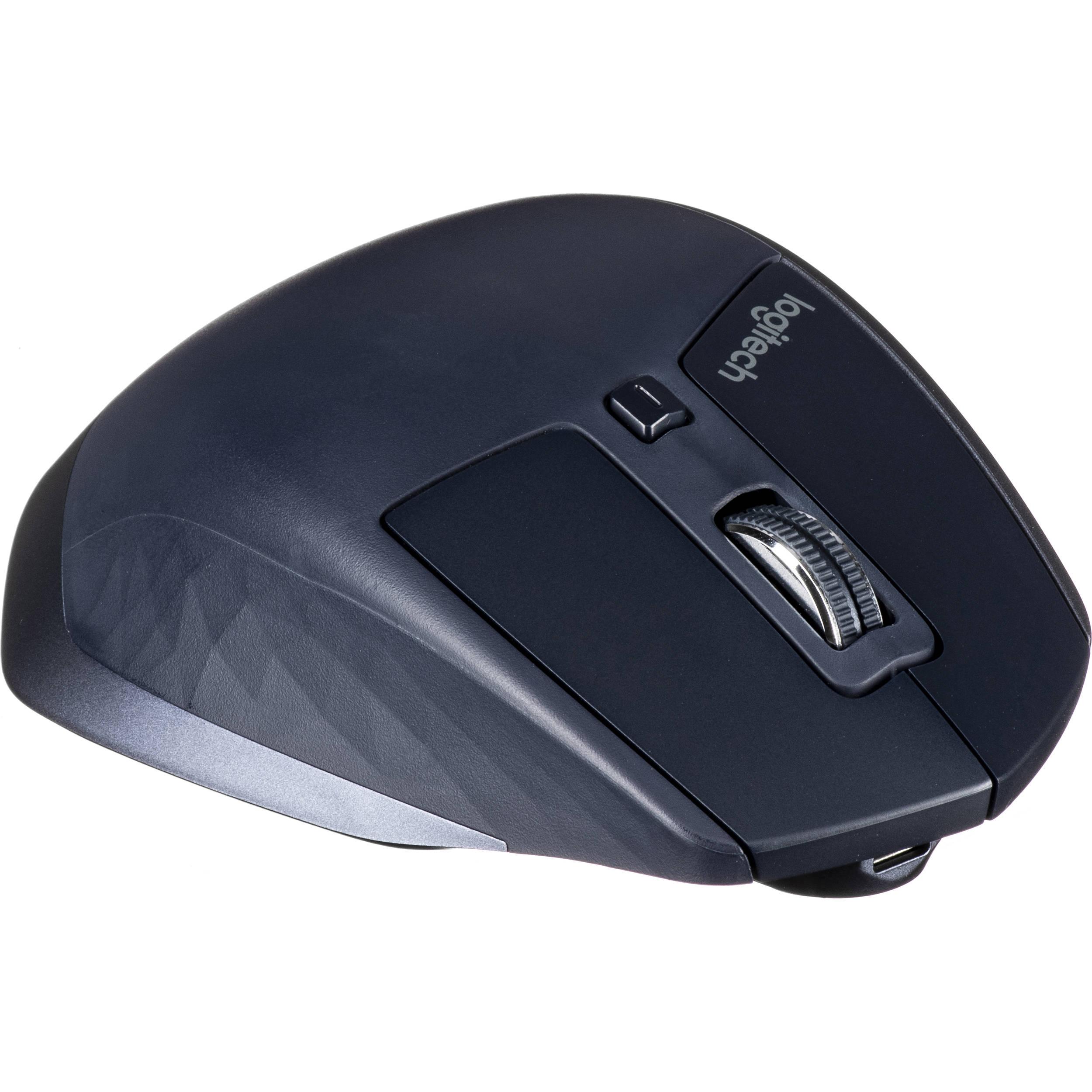 Logitech MX Master Wireless Mouse (Navy Blue)