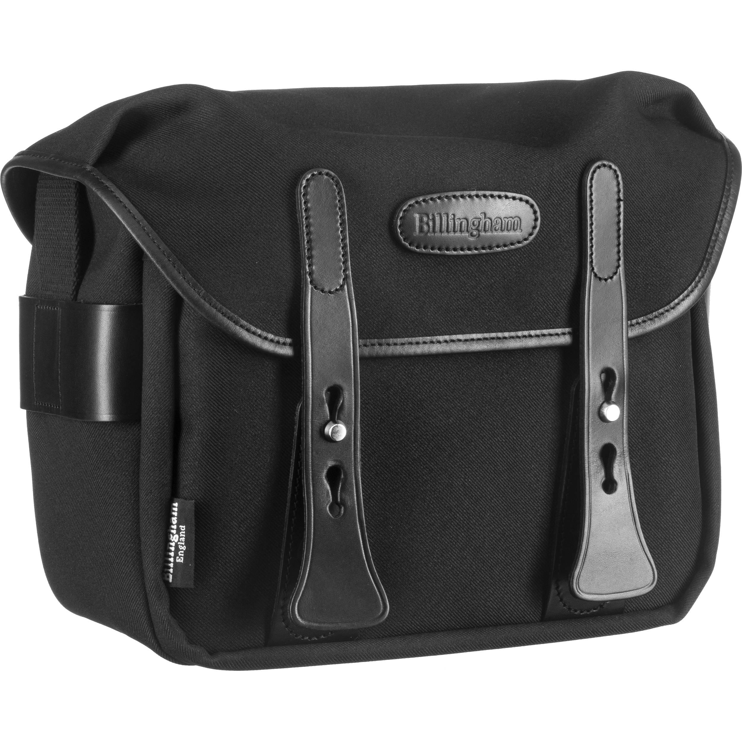 Billingham F Stop 2 8 Camera Bag Black With Leather Trim