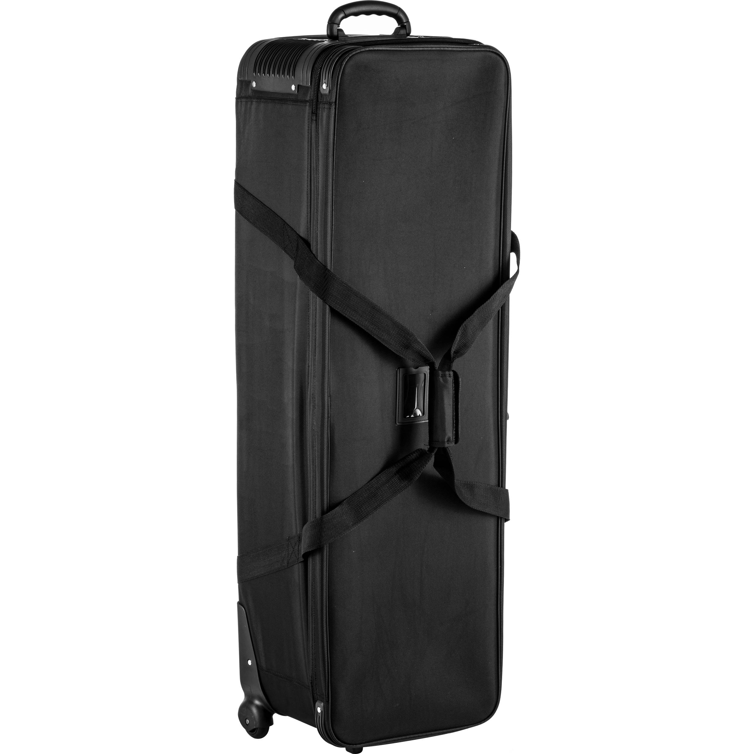 Ox Cb 01 Wheeled Light Stand And Tripod Carrying Bag Black 44 9