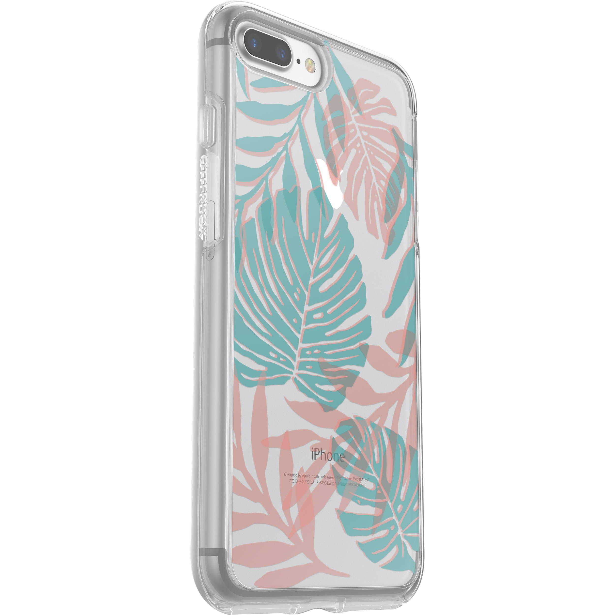 various colors ce23a 70cd6 OtterBox Symmetry Series Clear Graphics Case for iPhone 7 Plus/8 Plus (Easy  Breezy)