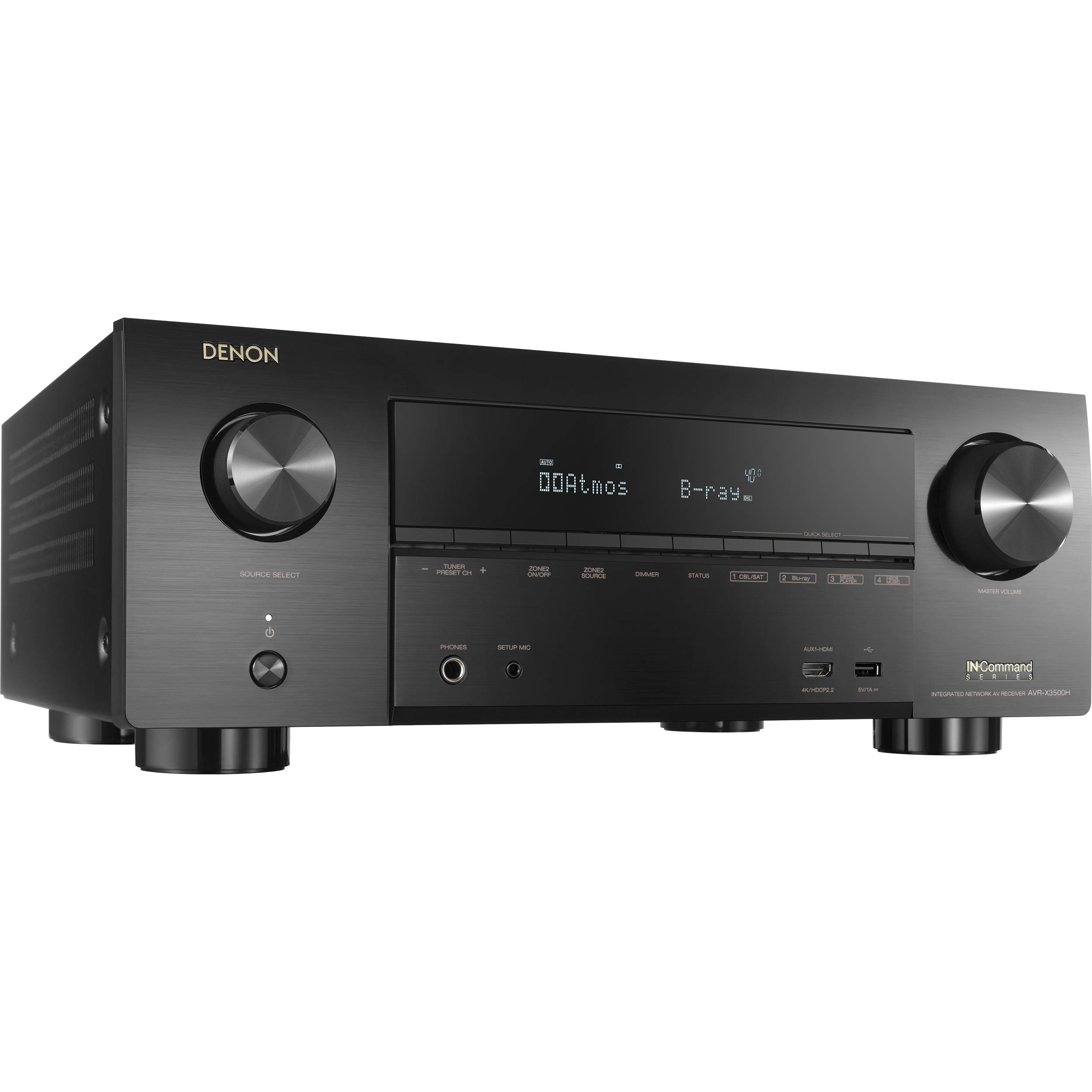 Denon AVR-X3500H 7 2-Channel Network A/V Receiver