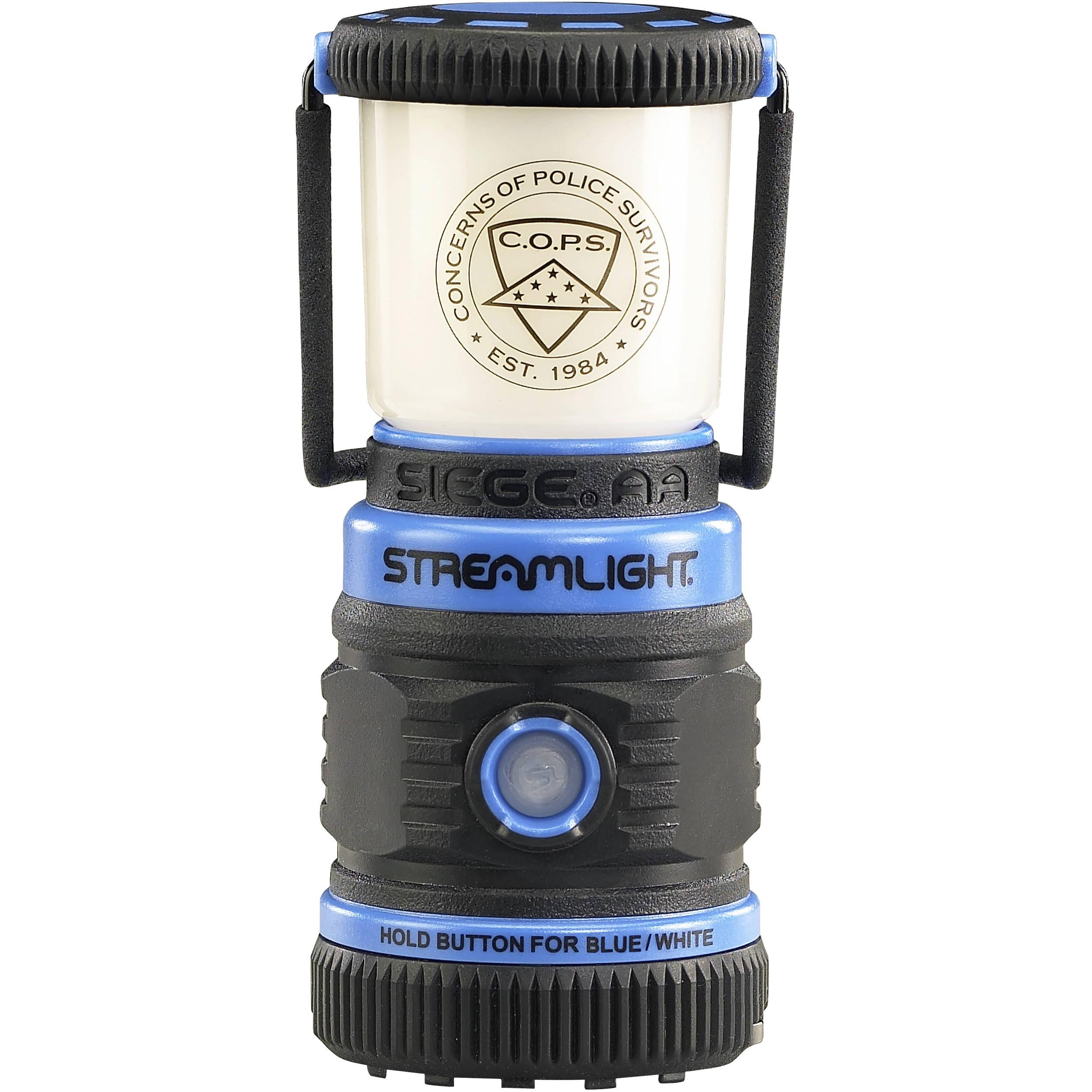 200 Lumen Streamlight 44941 Seige LED Lantern AA-Battery