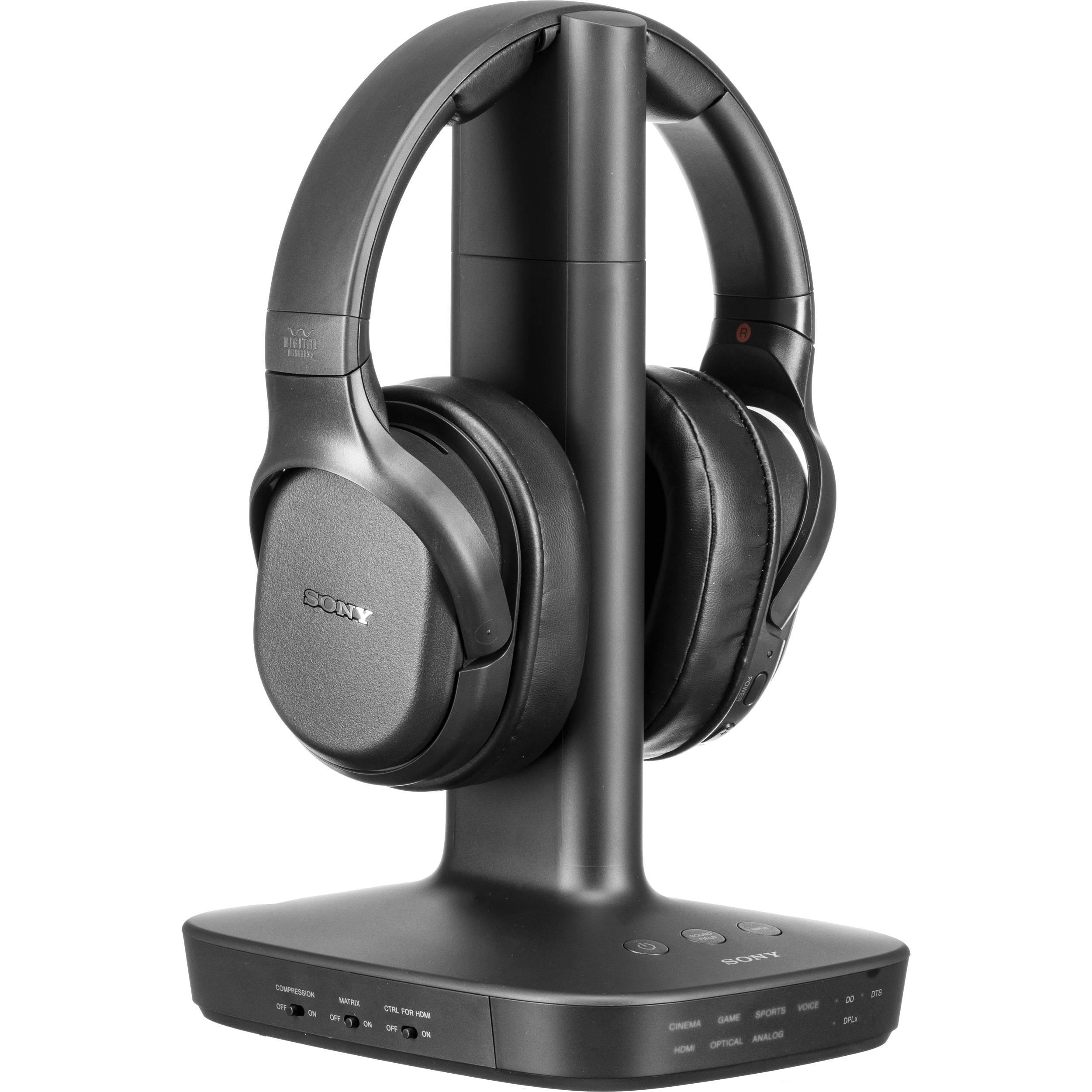 Sony Wh L600 Digital Surround Wireless Over Ear Whl600 B B H