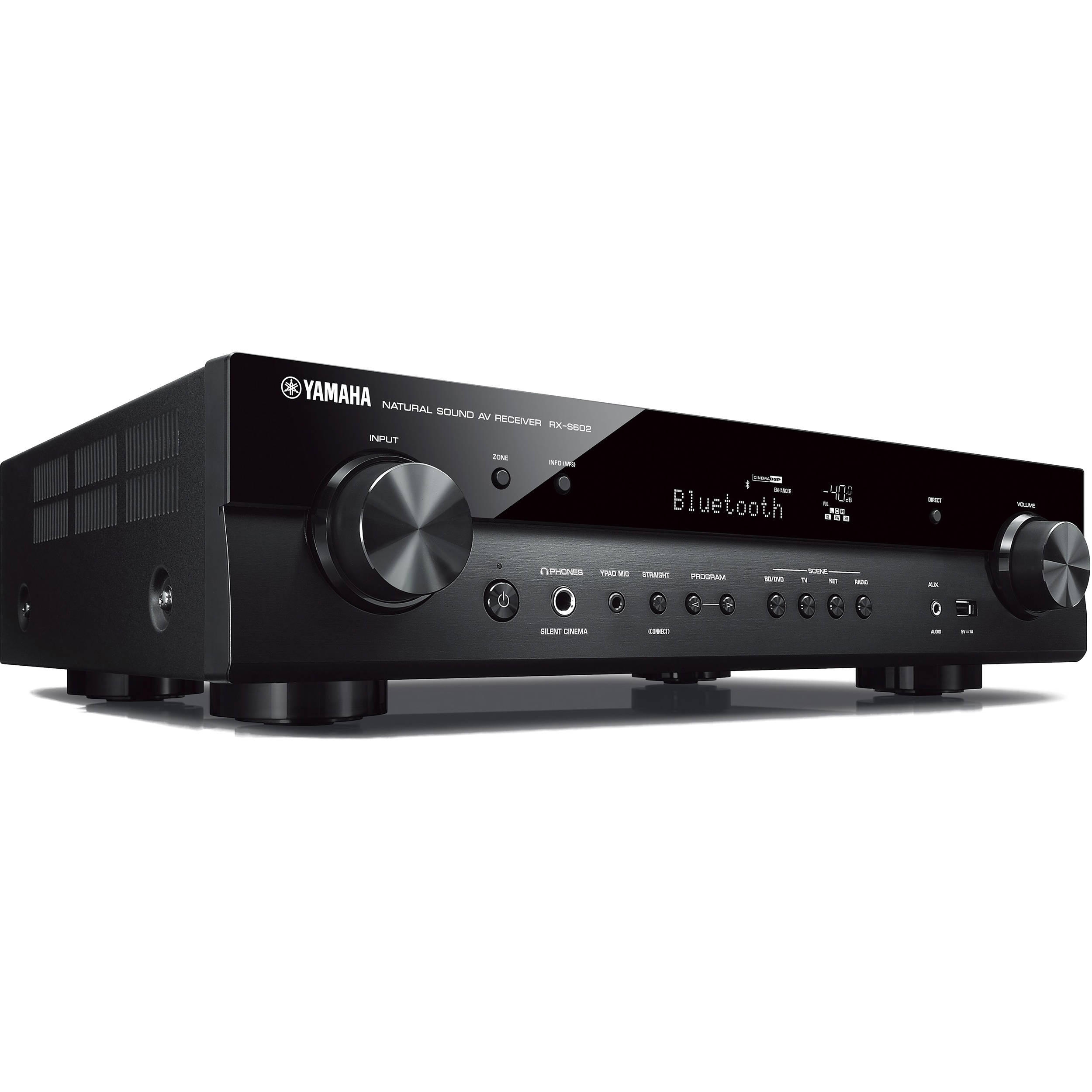Yamaha RX-S602 5 1-Channel MusicCast Network A/V Receiver