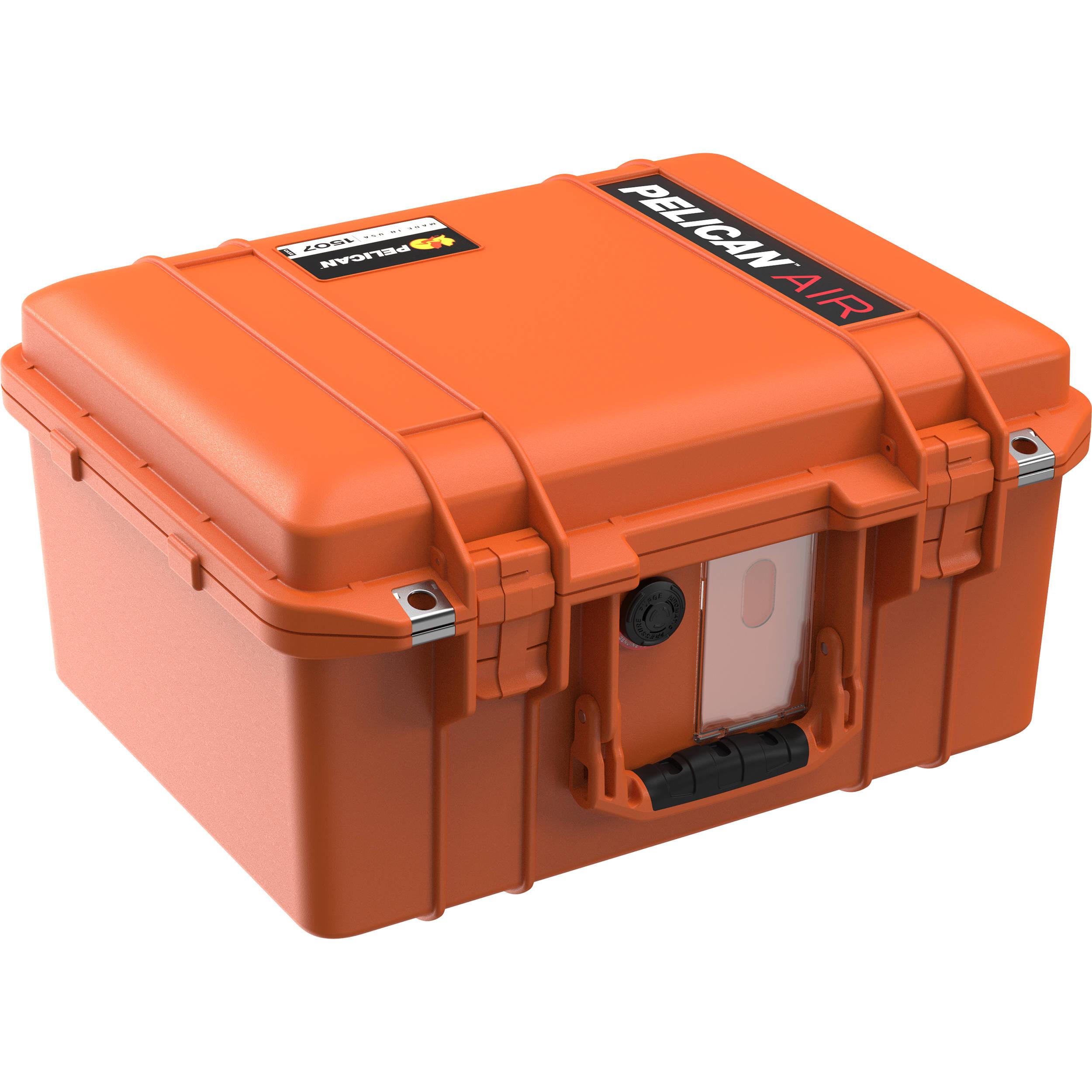 Orange Pelican Air 1507 Case No Foam