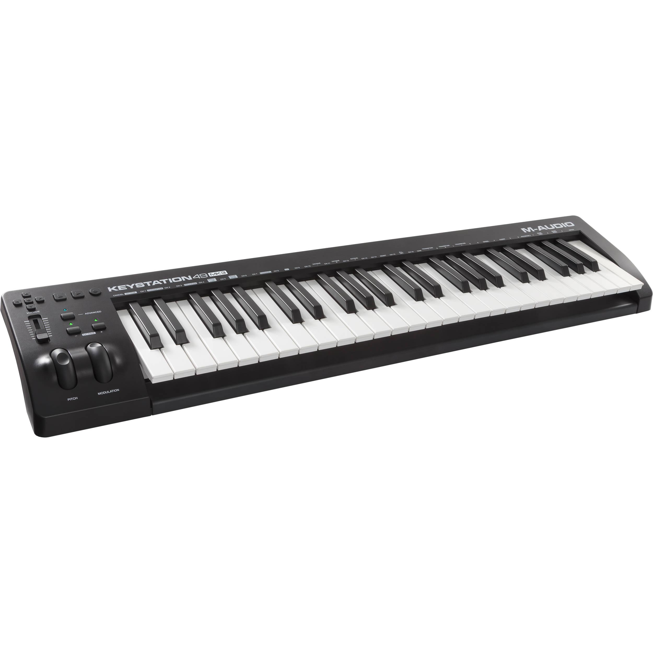 M-AUDIO KEYSTATION 49E MIDI DRIVERS WINDOWS 7 (2019)