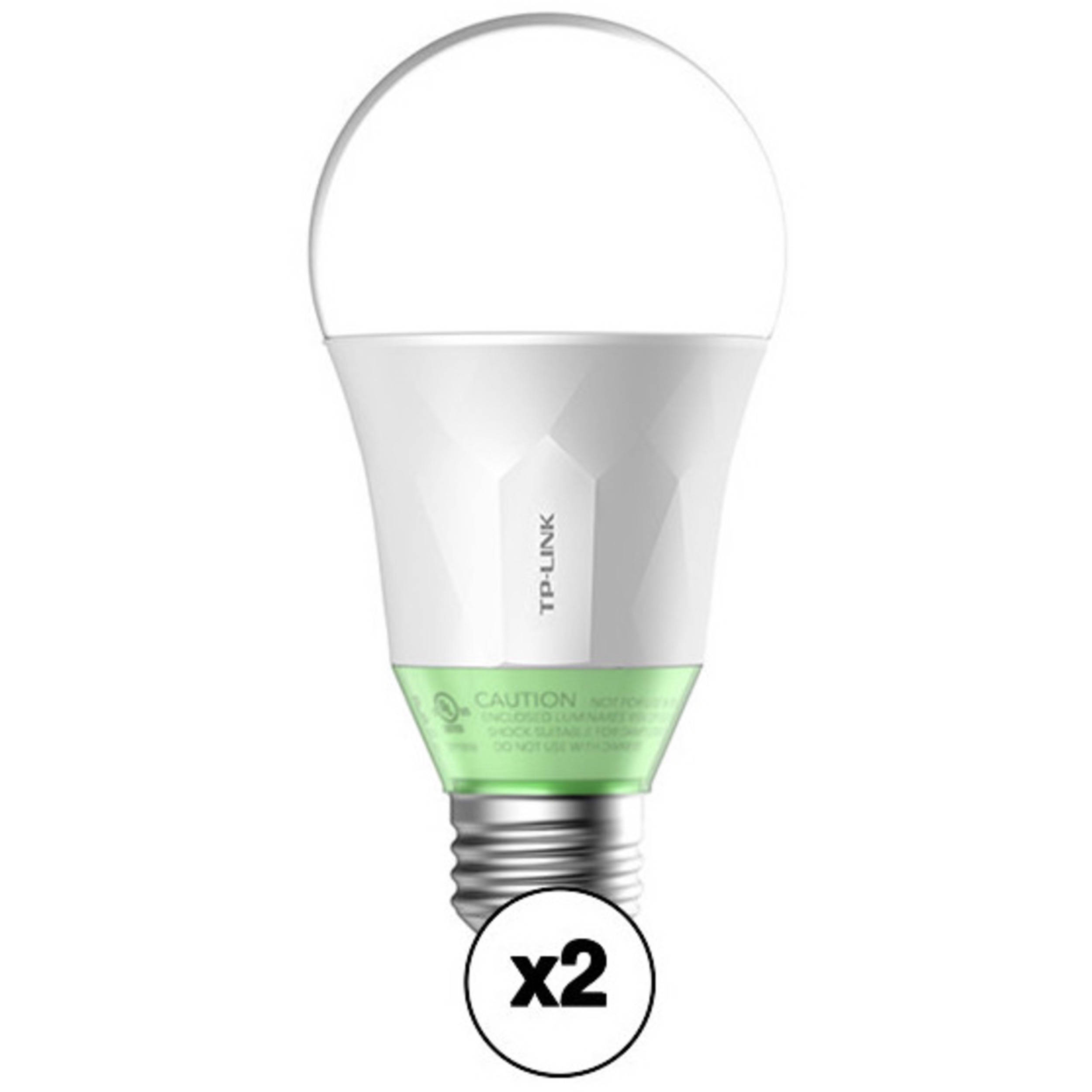 TP-Link LB110 Wi-Fi Smart LED Bulb (2-Pack)