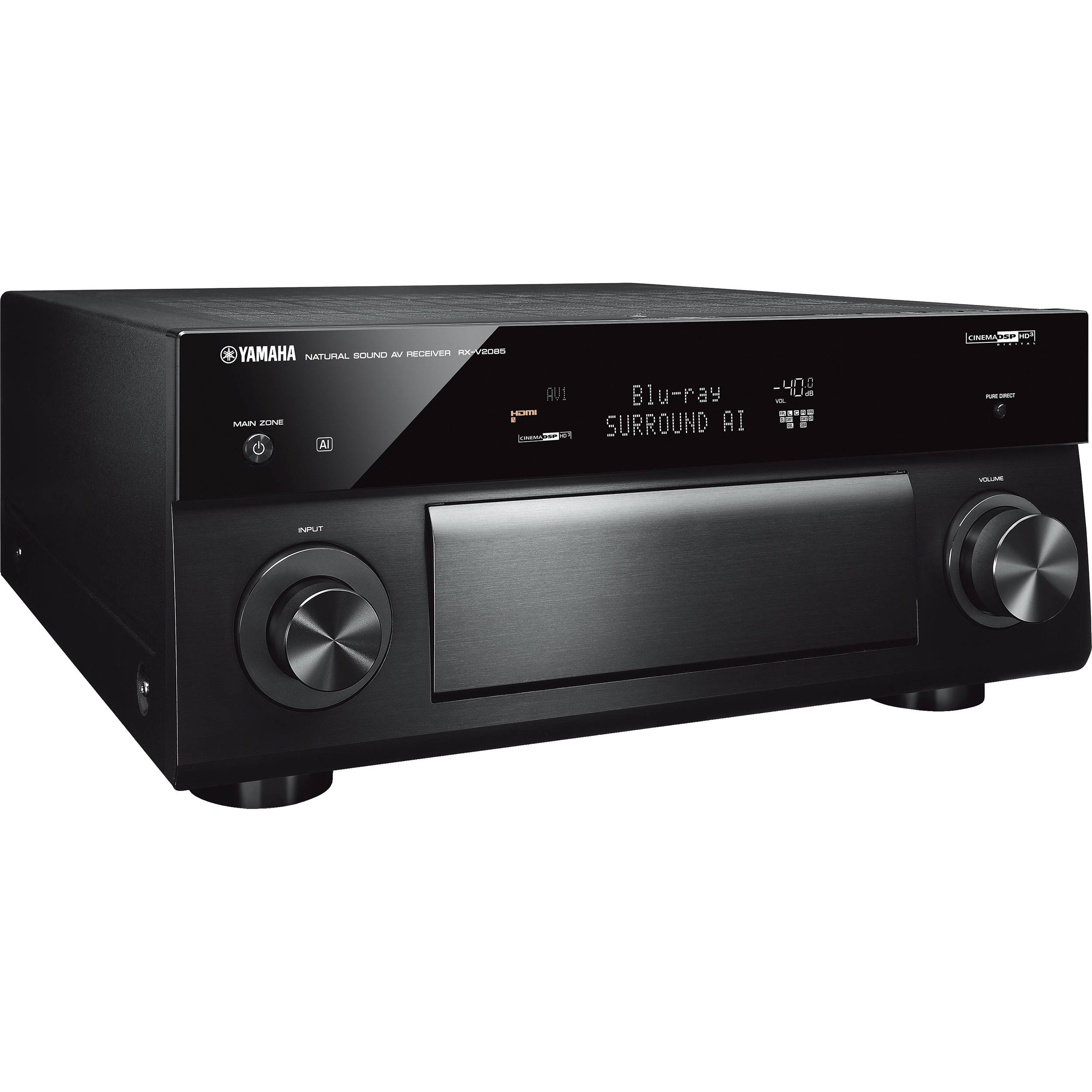 Yamaha RX-V2085 9 2-Channel Network A/V Receiver