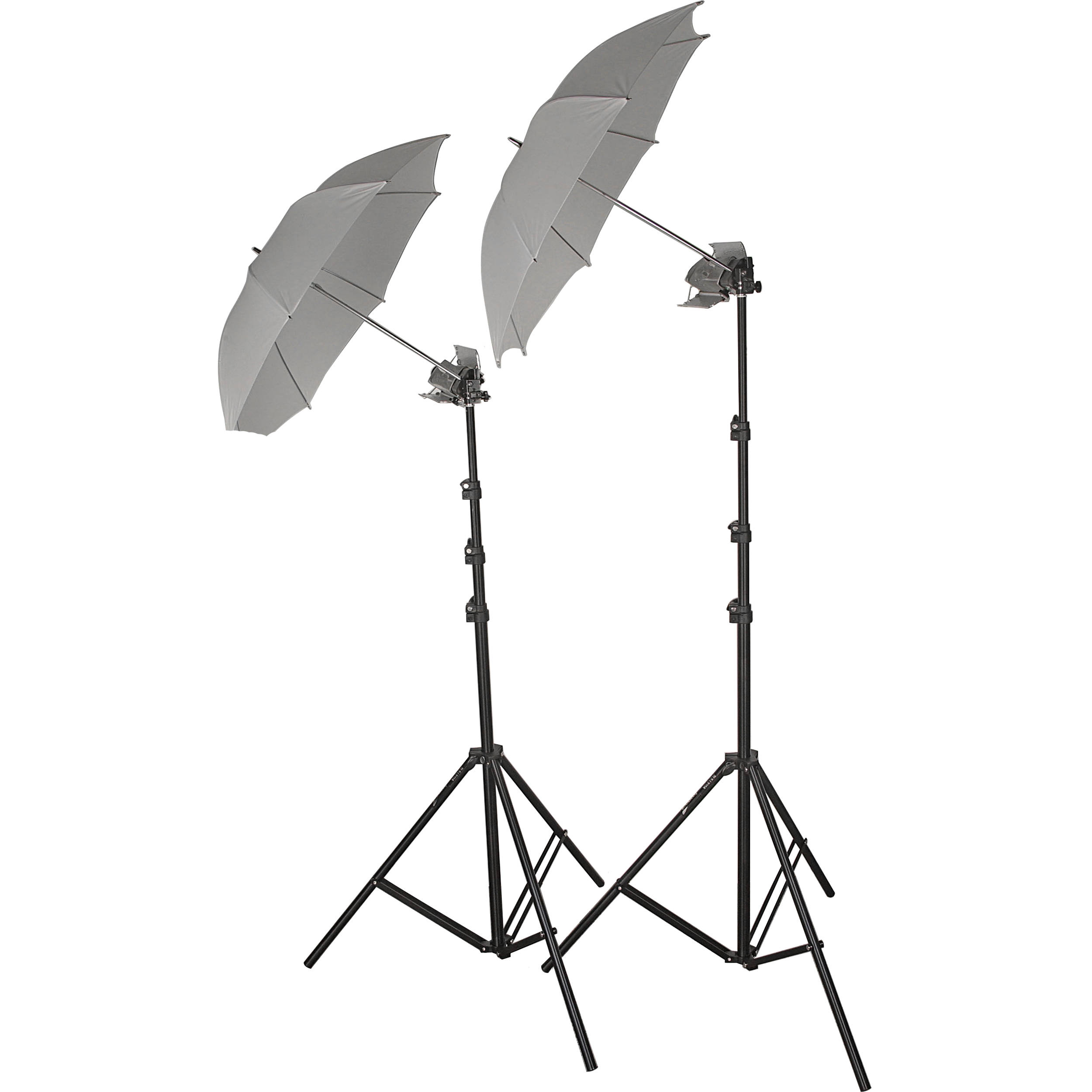 2-Umbrella Tungsten Lighting Kit
