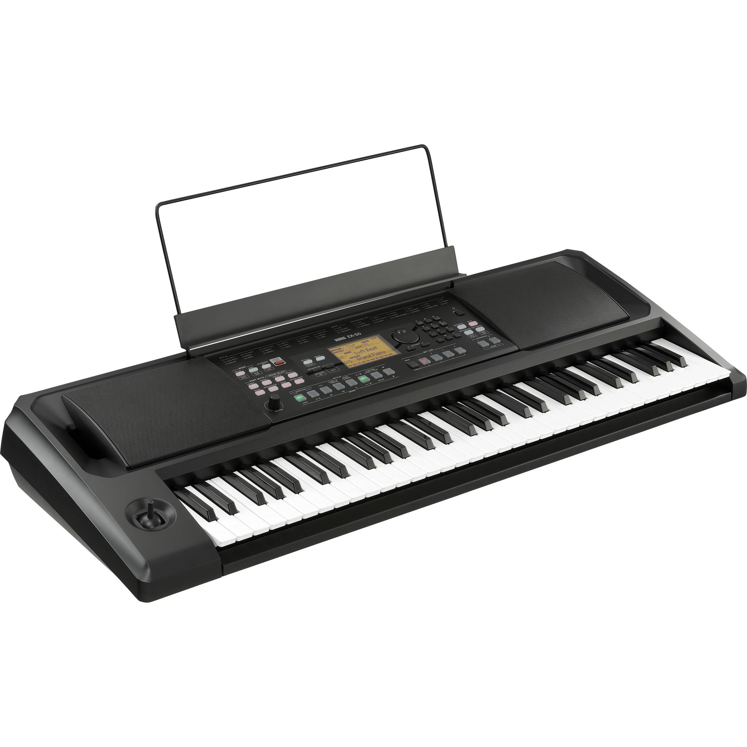 Korg EK-50 61-Key Arranger Keyboard with Built-In Speakers