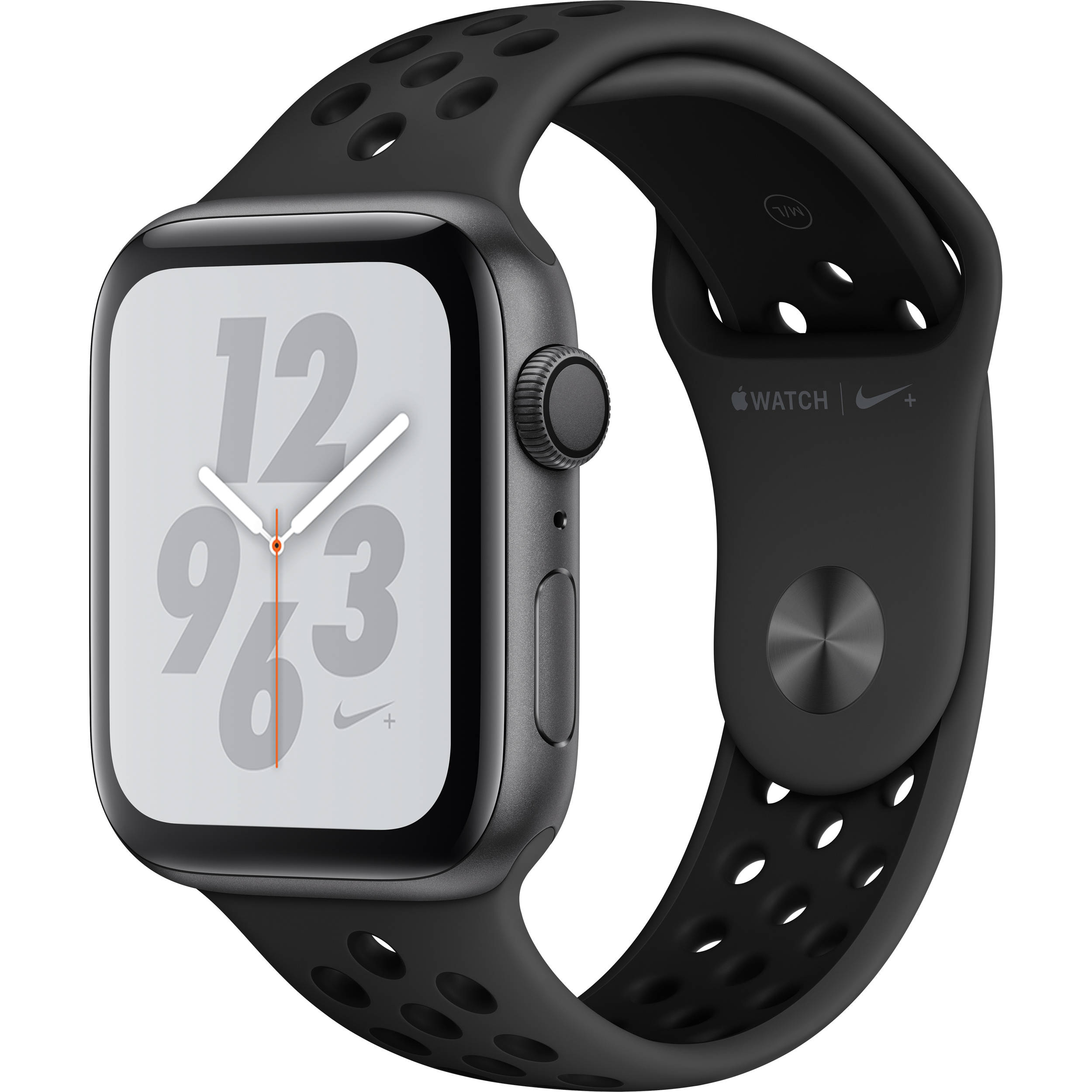Apple Watch Nike+ Series 4 (GPS Only, 44mm, Space Gray Aluminum,  Anthracite/Black Nike Sport Band)