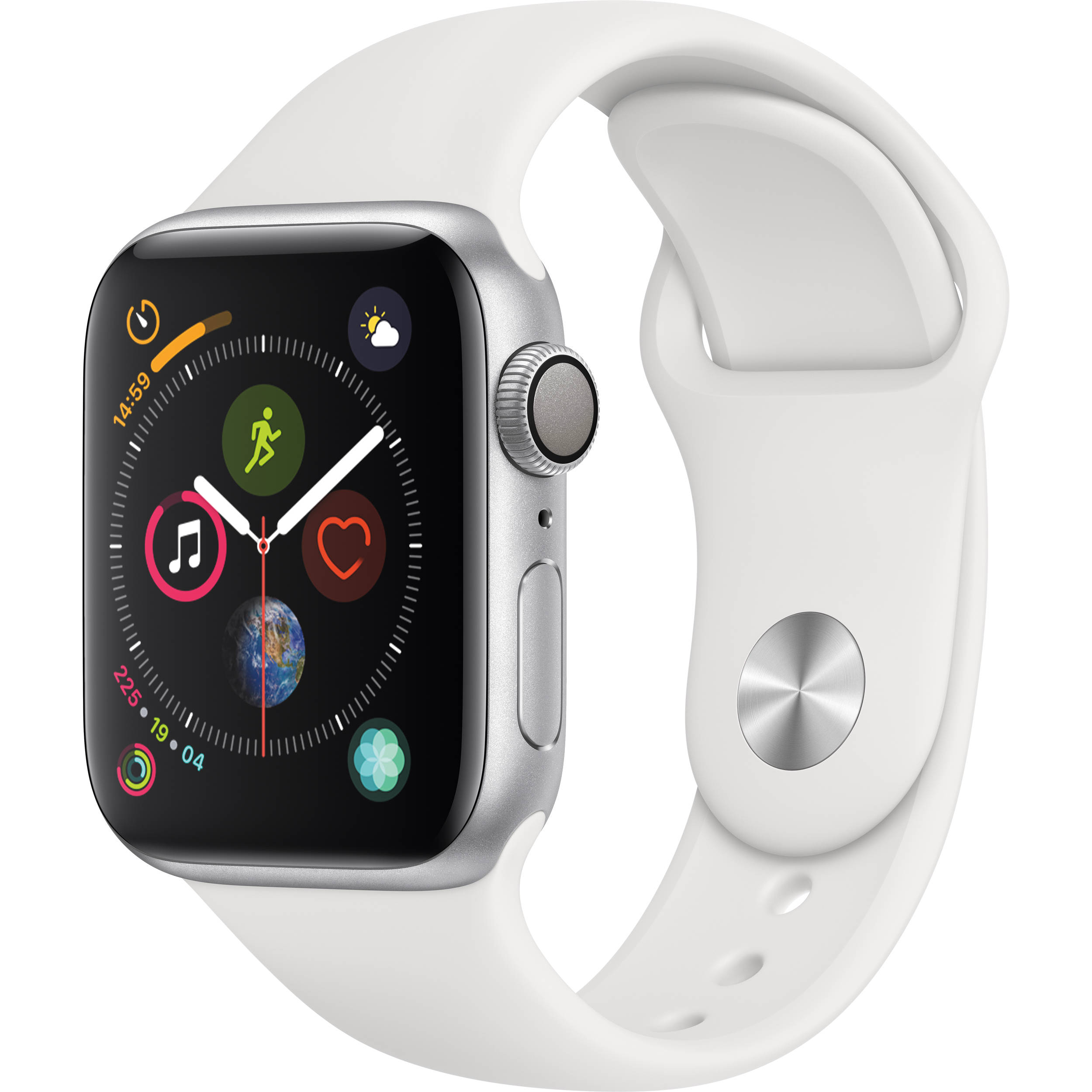 the latest 6a16d 4e8c7 Apple Watch Series 4 (GPS + Cellular, 44mm, Stainless Steel, Milanese Loop)