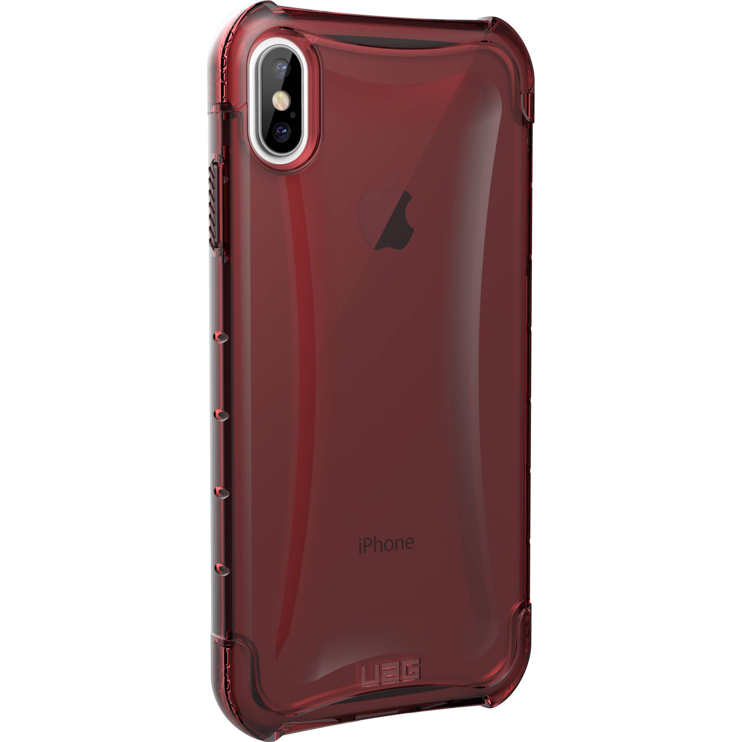 wholesale dealer cc4d9 5eb66 Urban Armor Gear Plyo Series Case for iPhone Xs Max (Crimson)