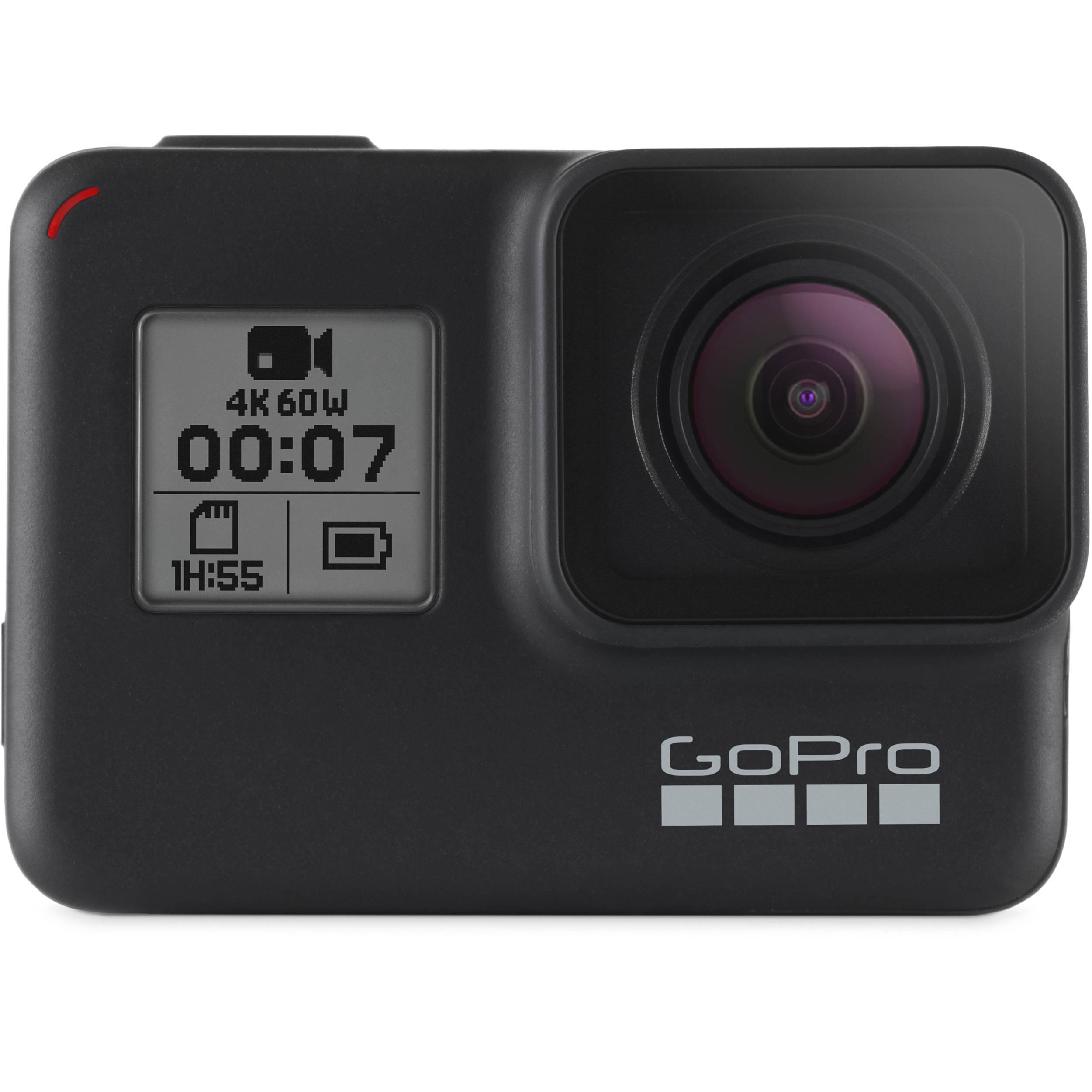 GoPro Hero 7 Black CHDHX-701 HERO7 B&H Photo