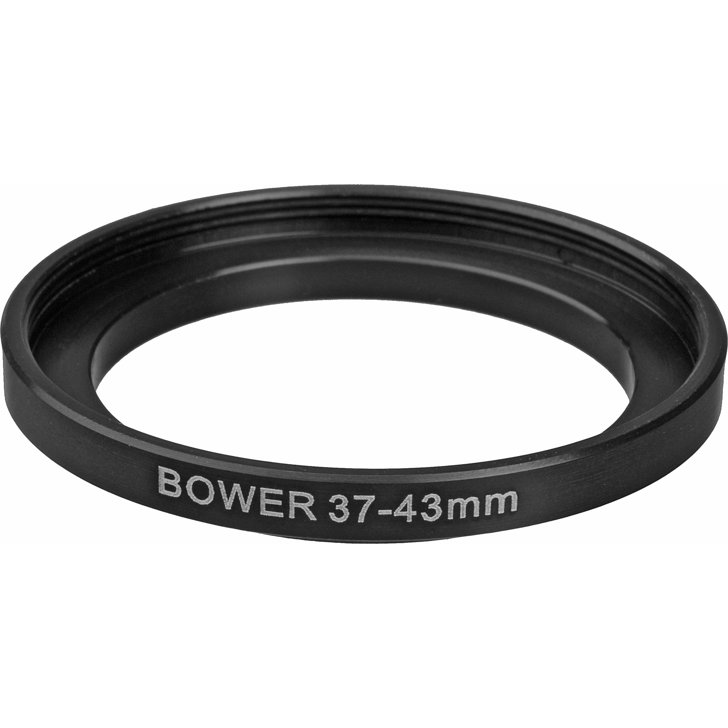 3 Pack Sensei 43mm Lens to 49mm Filter Step-Up Ring
