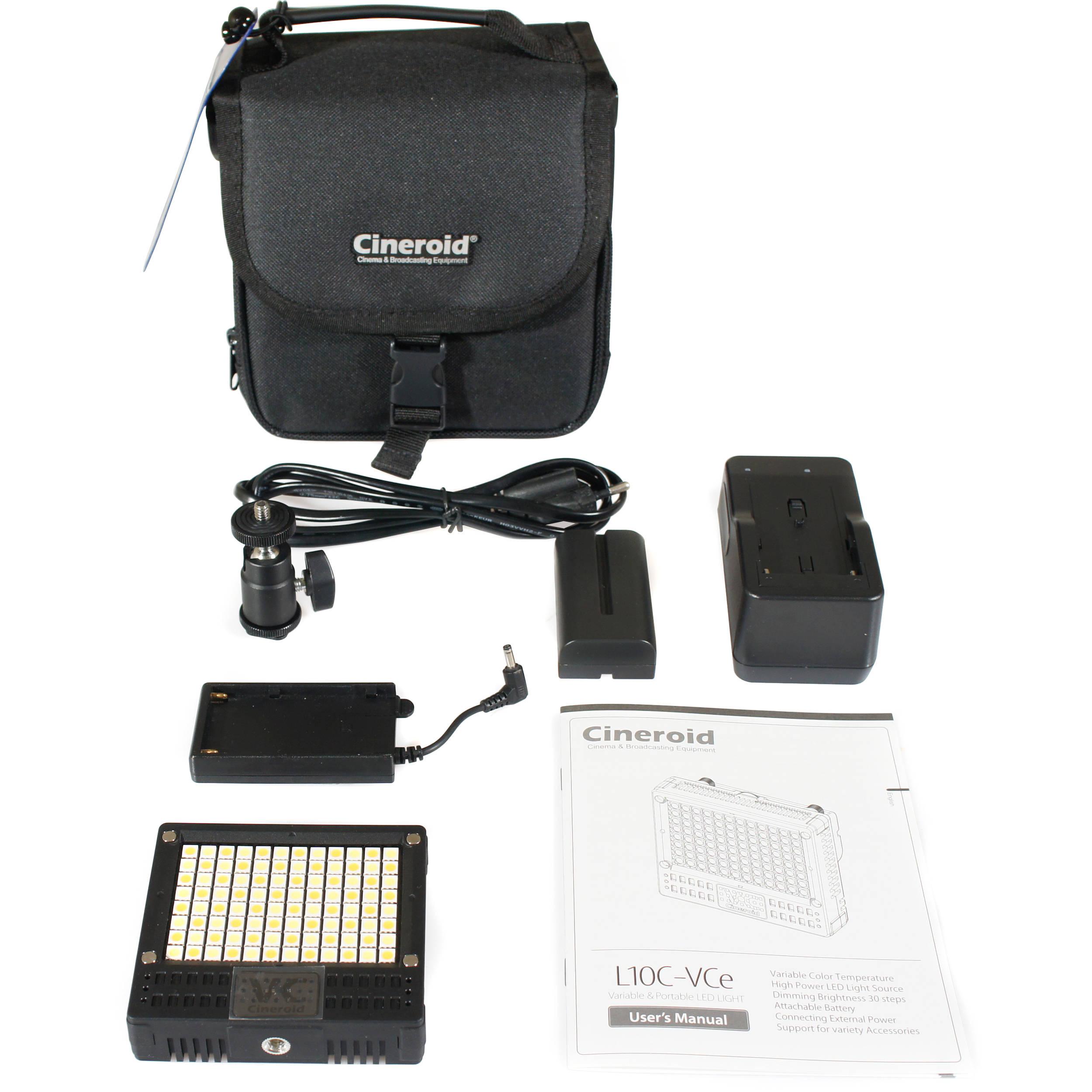 Cineroid Bi-Color LED Licht L10-BC basic