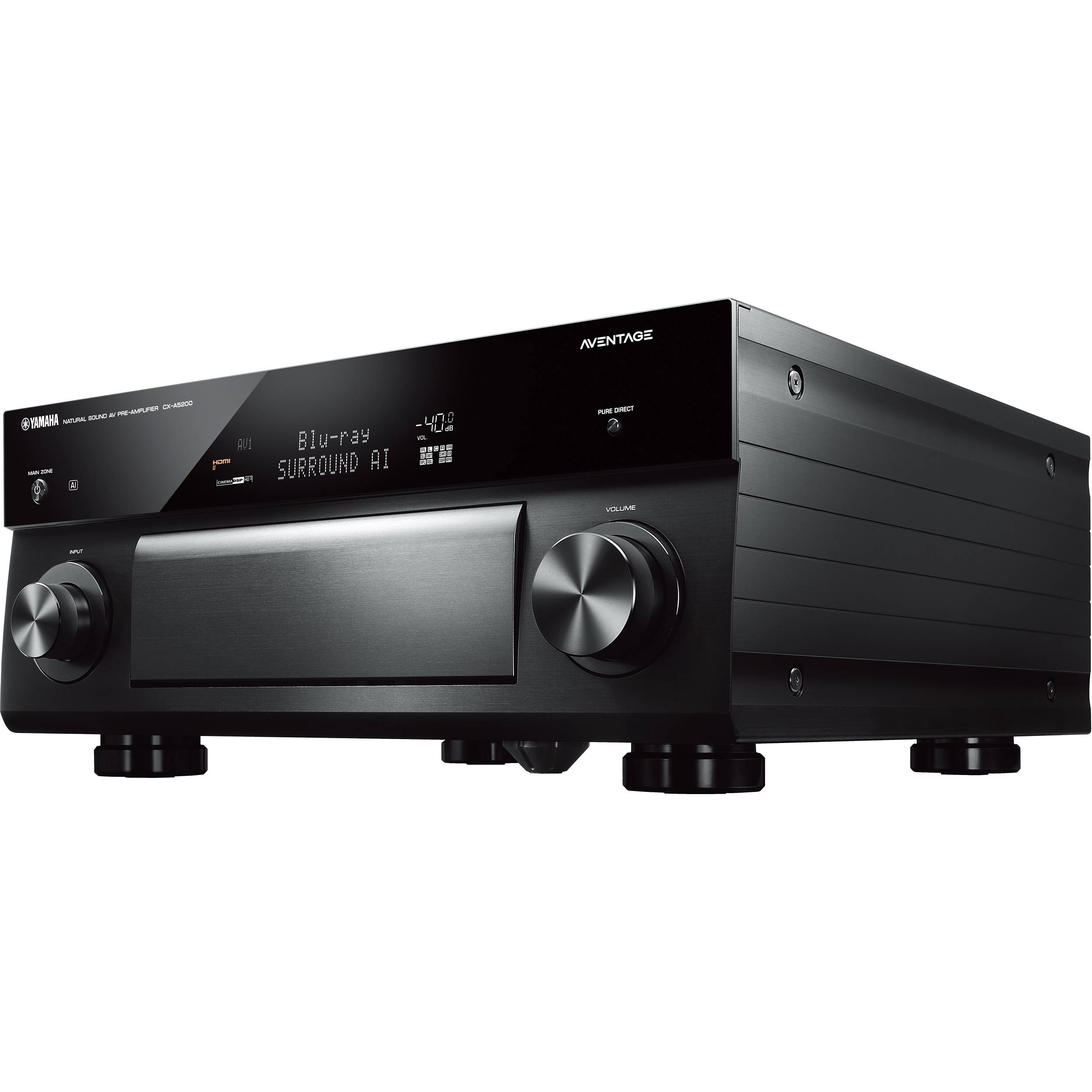 Yamaha AVENTAGE CX-A5200 11 2-Channel MusicCast Preamplifier
