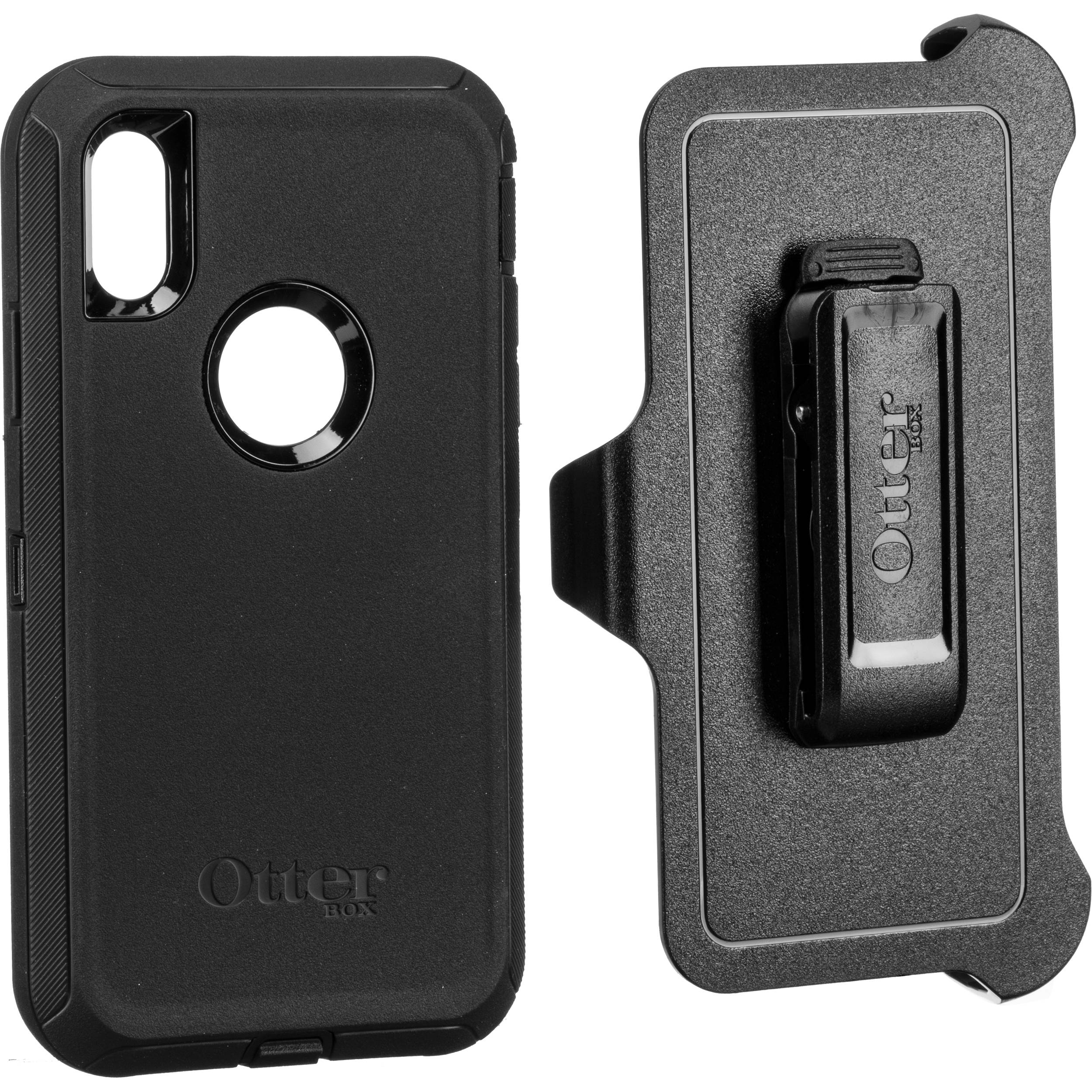 wholesale dealer 977b6 7ee69 OtterBox Defender Series Case for iPhone XR (Black)