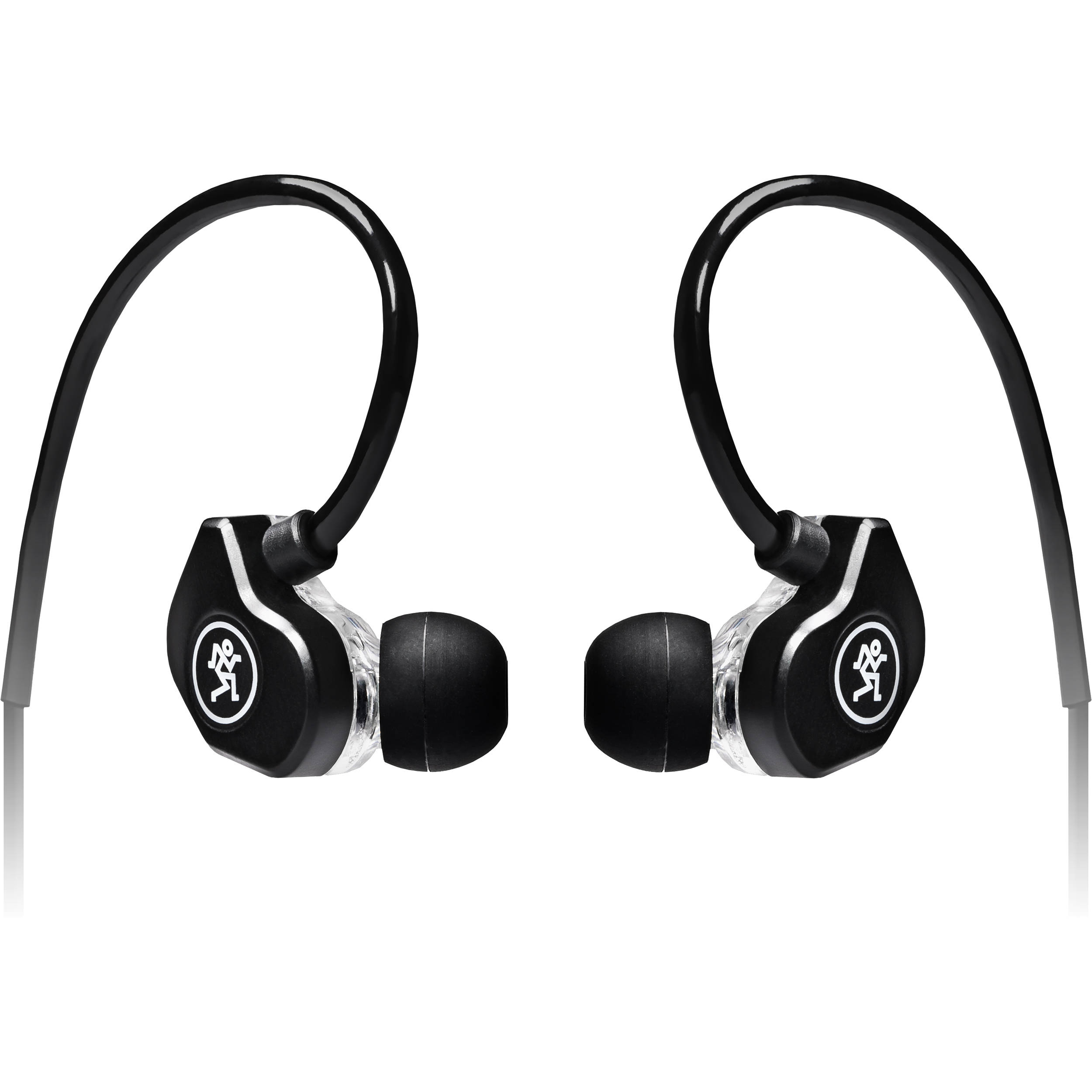 Mackie CR-Buds+ In-Ear Headphones with In-Line Microphone & Remote (Black)