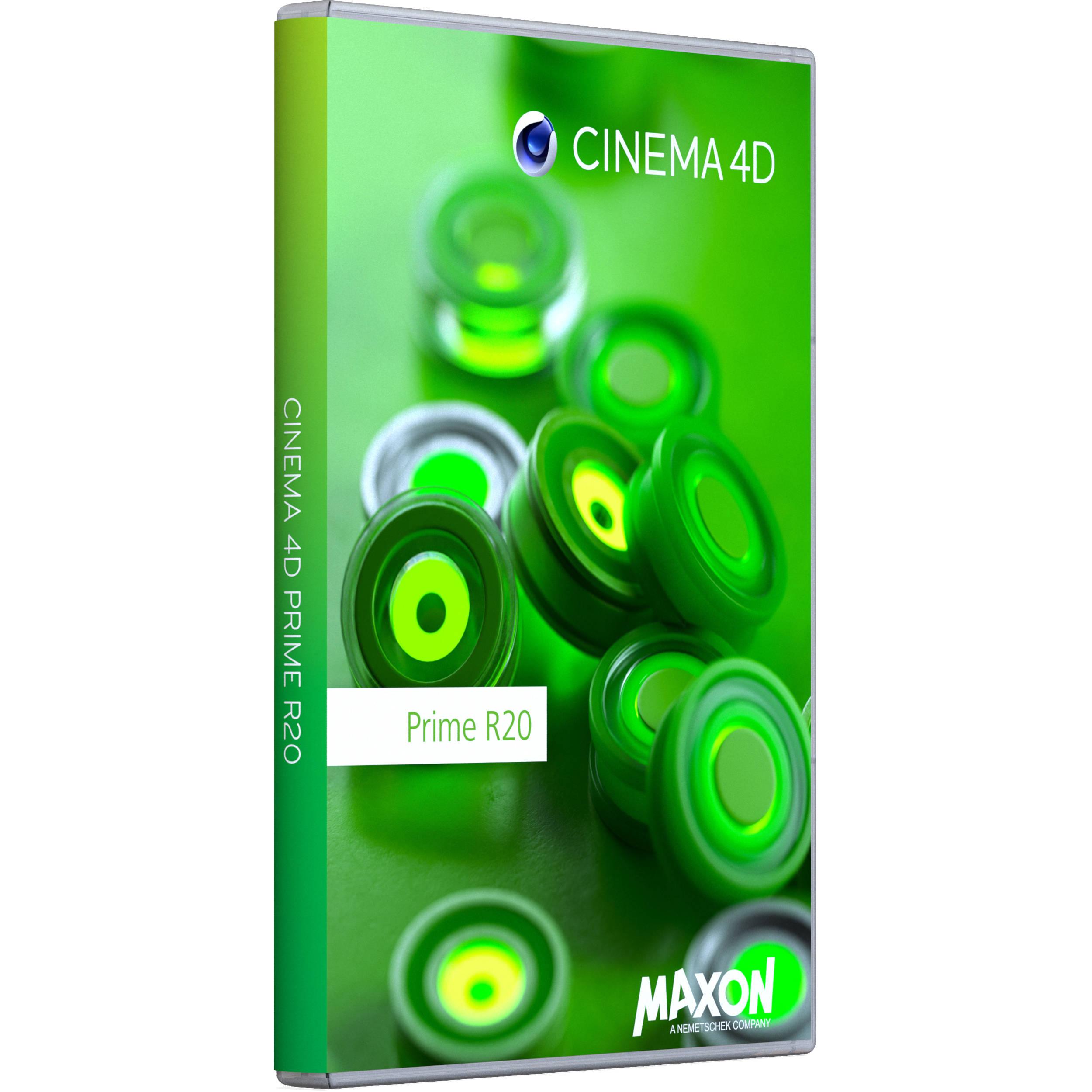 Maxon Cinema 4D Prime R20 (Multi-License Discount, Download)