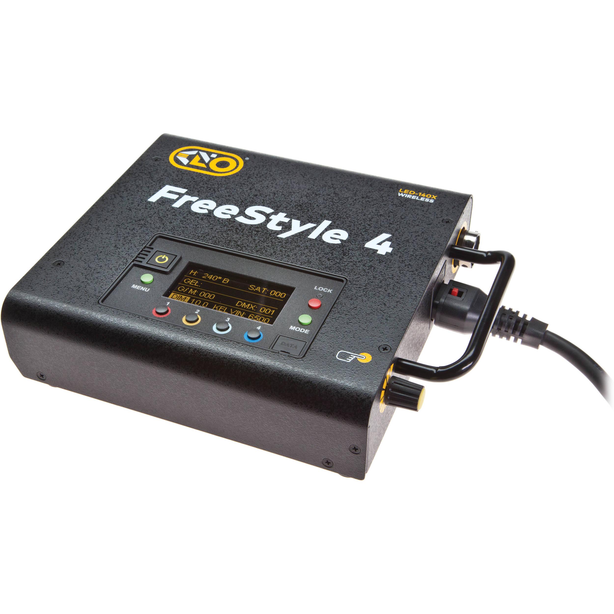 Kino Flo Freestyle 140 Led Dmx Controller For T44 Bulbs 230 Vac Cord