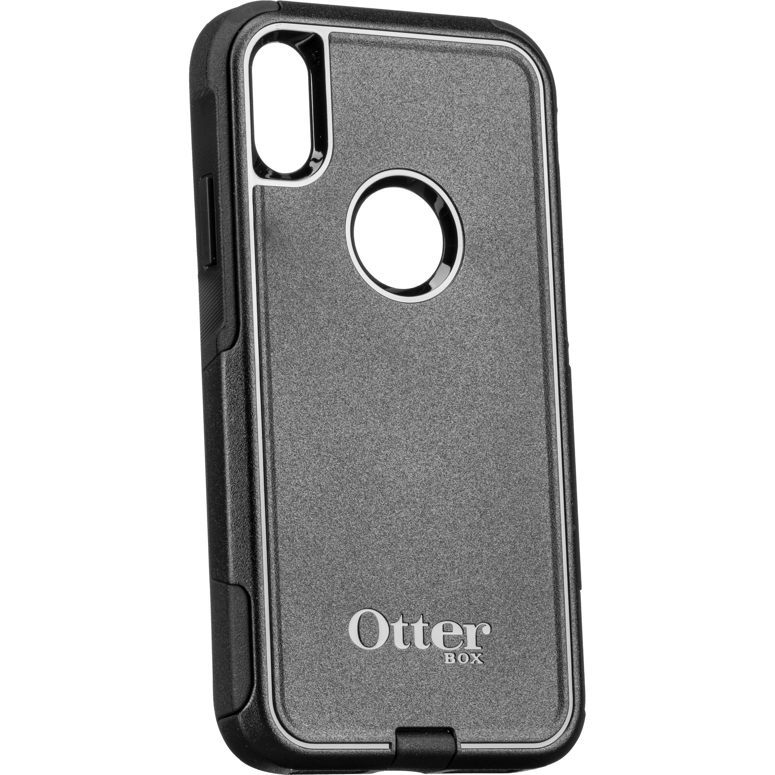 low priced f4ee6 85d89 OtterBox Commuter Series Case for iPhone XR (Black)