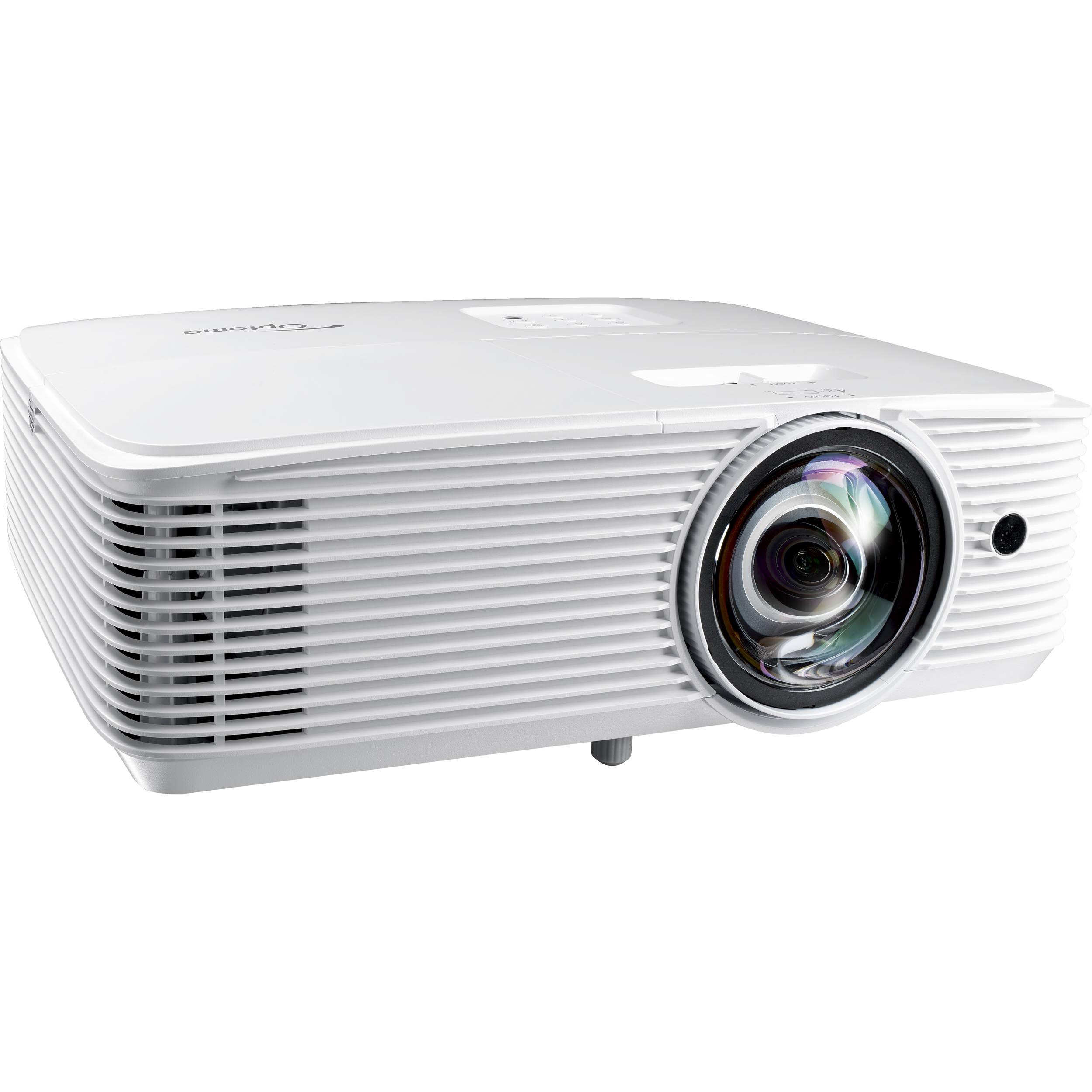 Optoma Technology W318ST 3500-Lumen WXGA Short-Throw DLP Projector