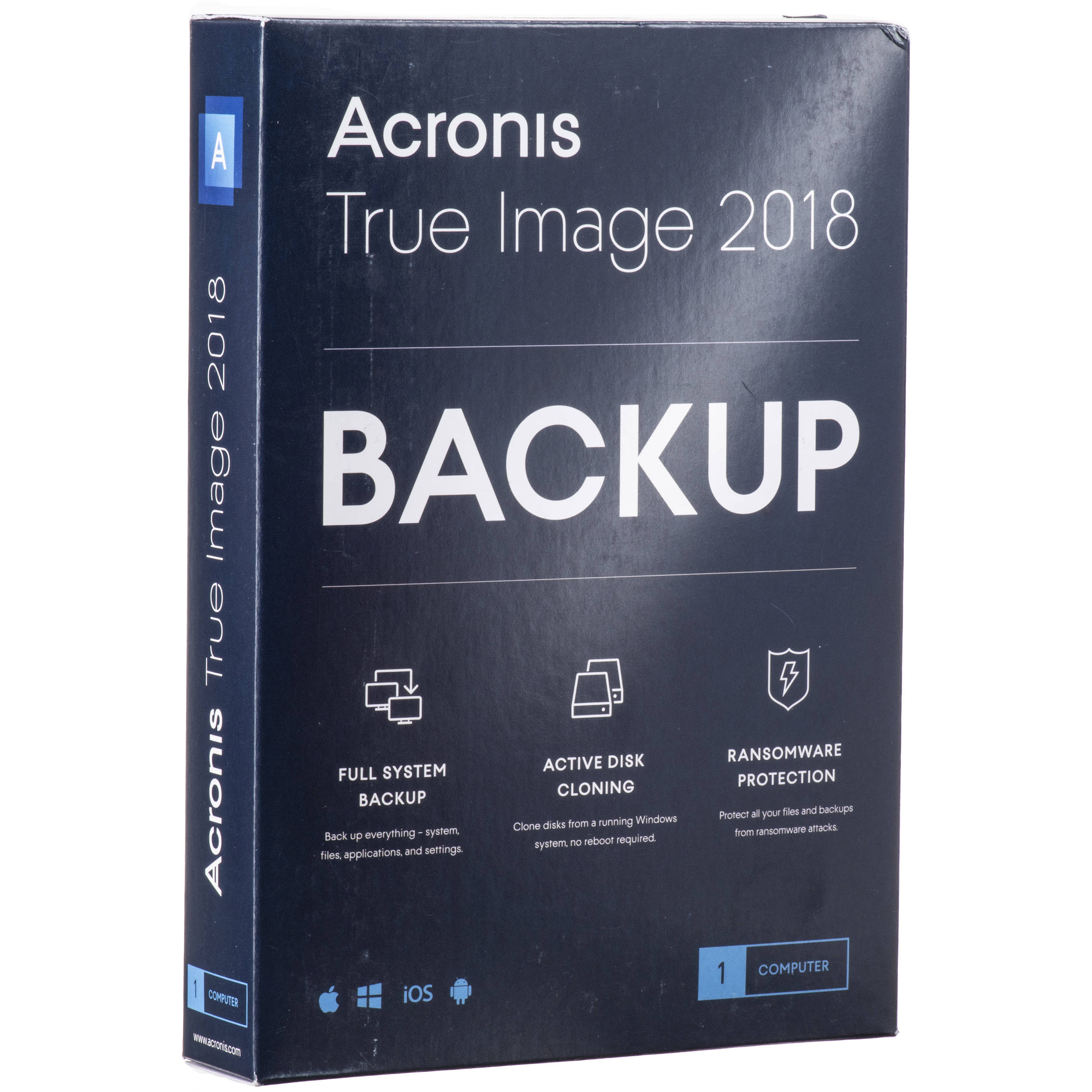 Acronis True Image 2018 (1-Device, Boxed)