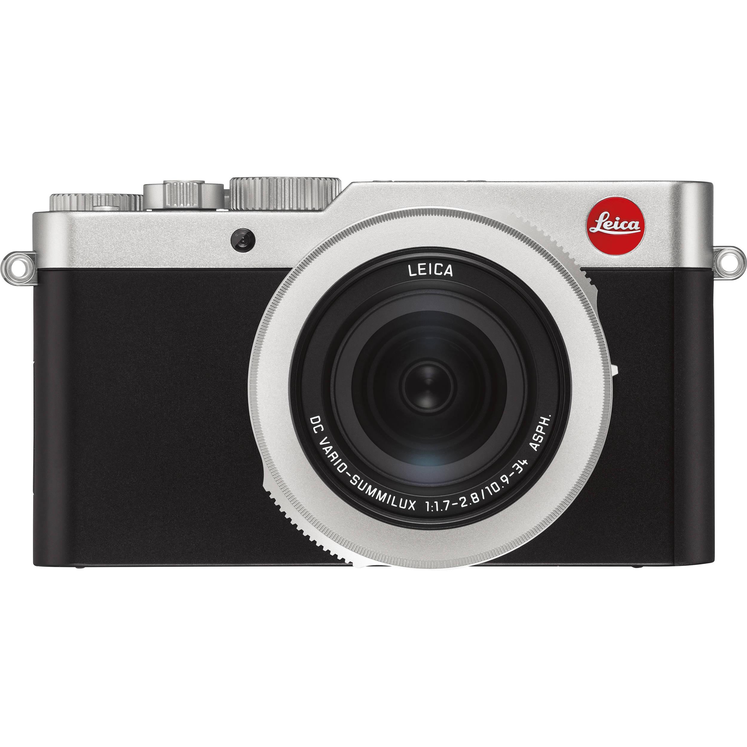 Leica D Lux 7 Digital Camera Silver 19116 B H Photo Video