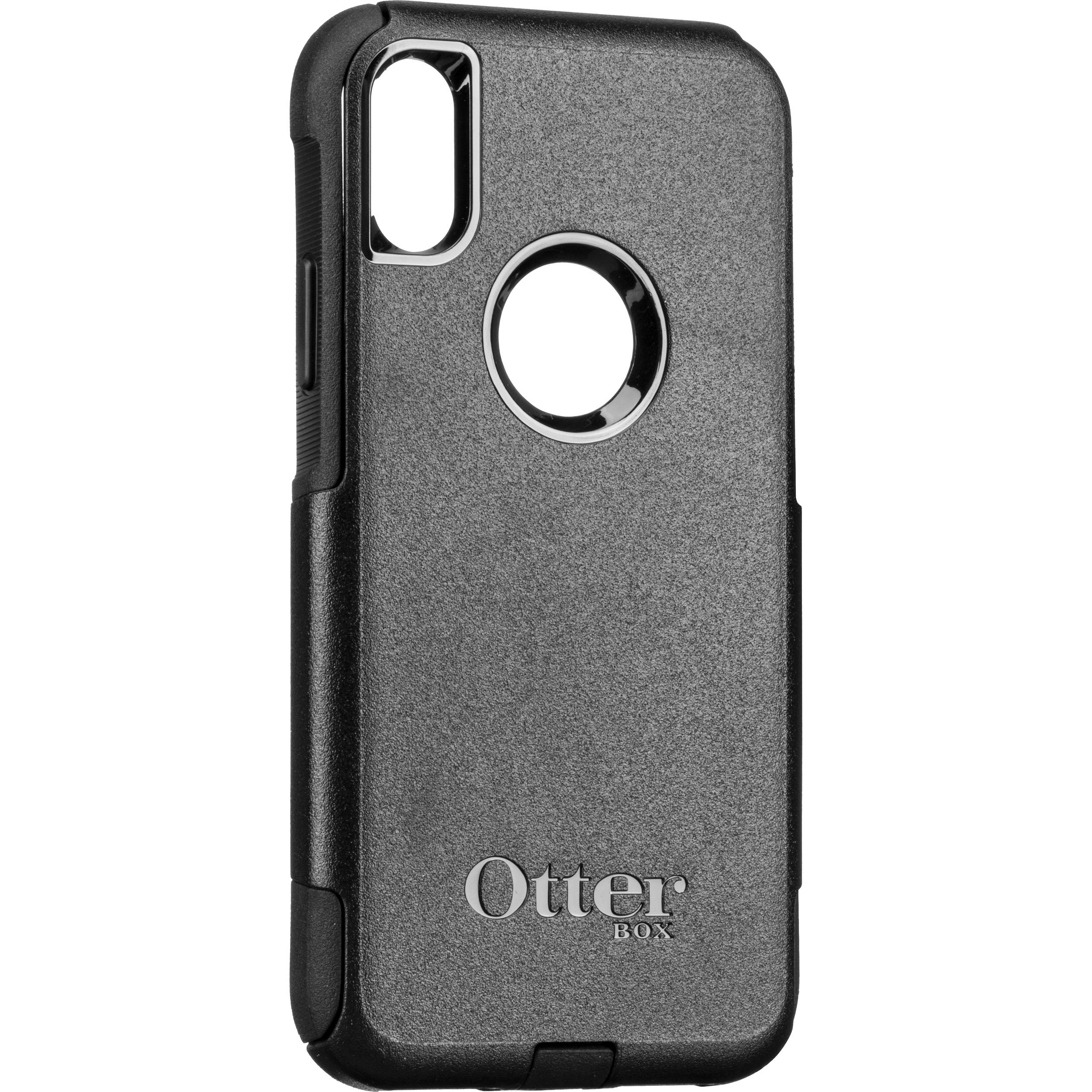 on sale 6e19c f5734 OtterBox Commuter Case for iPhone Xs (Black)