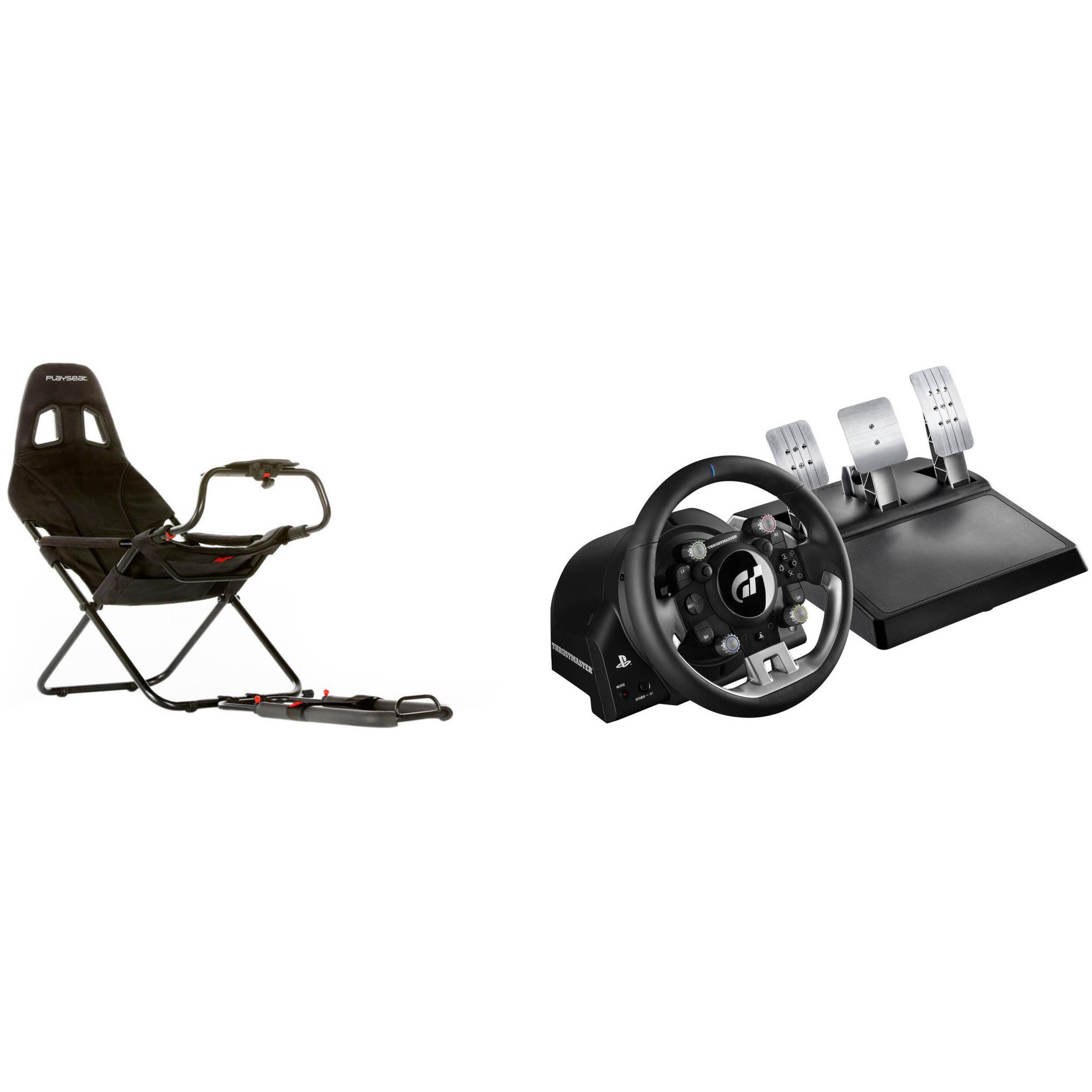 Playseat Challenge Racing Seat & Thrustmaster T-GT Racing Wheel Kit