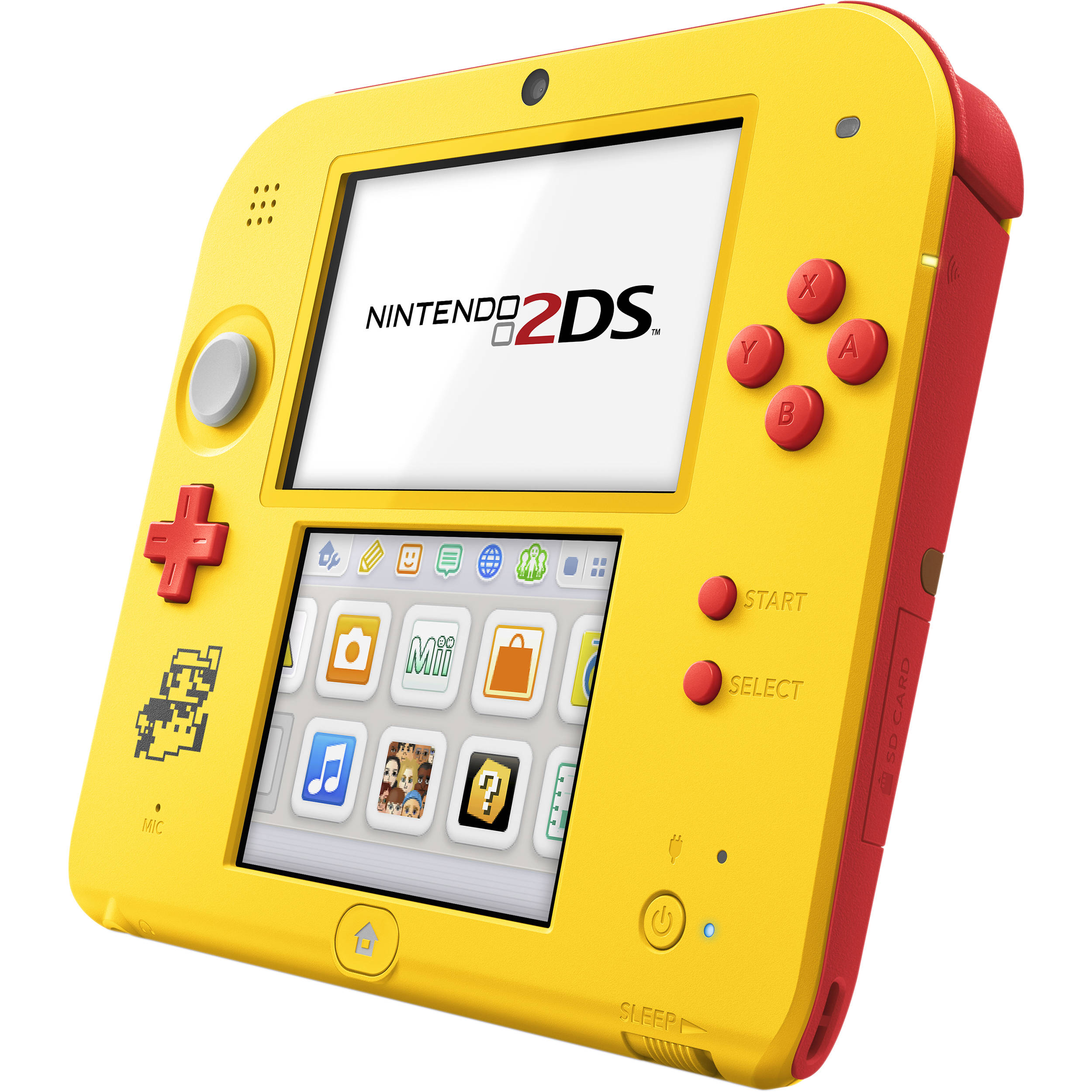 Nintendo 2DS Super Mario Maker Edition Bundle (Yellow)