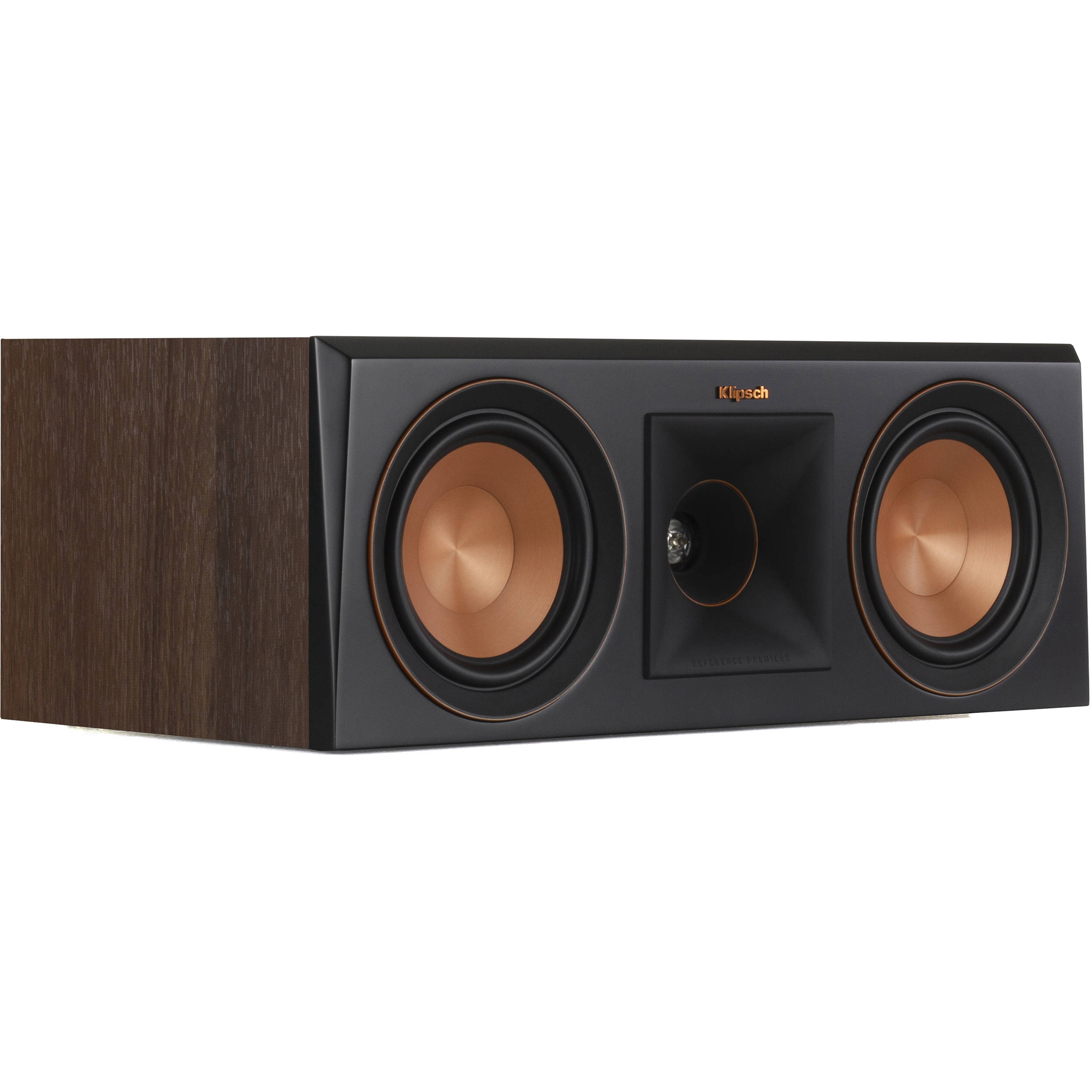 Klipsch Reference Premiere RP-500C 2-Way Center-Channel Speaker (Single,  Walnut)
